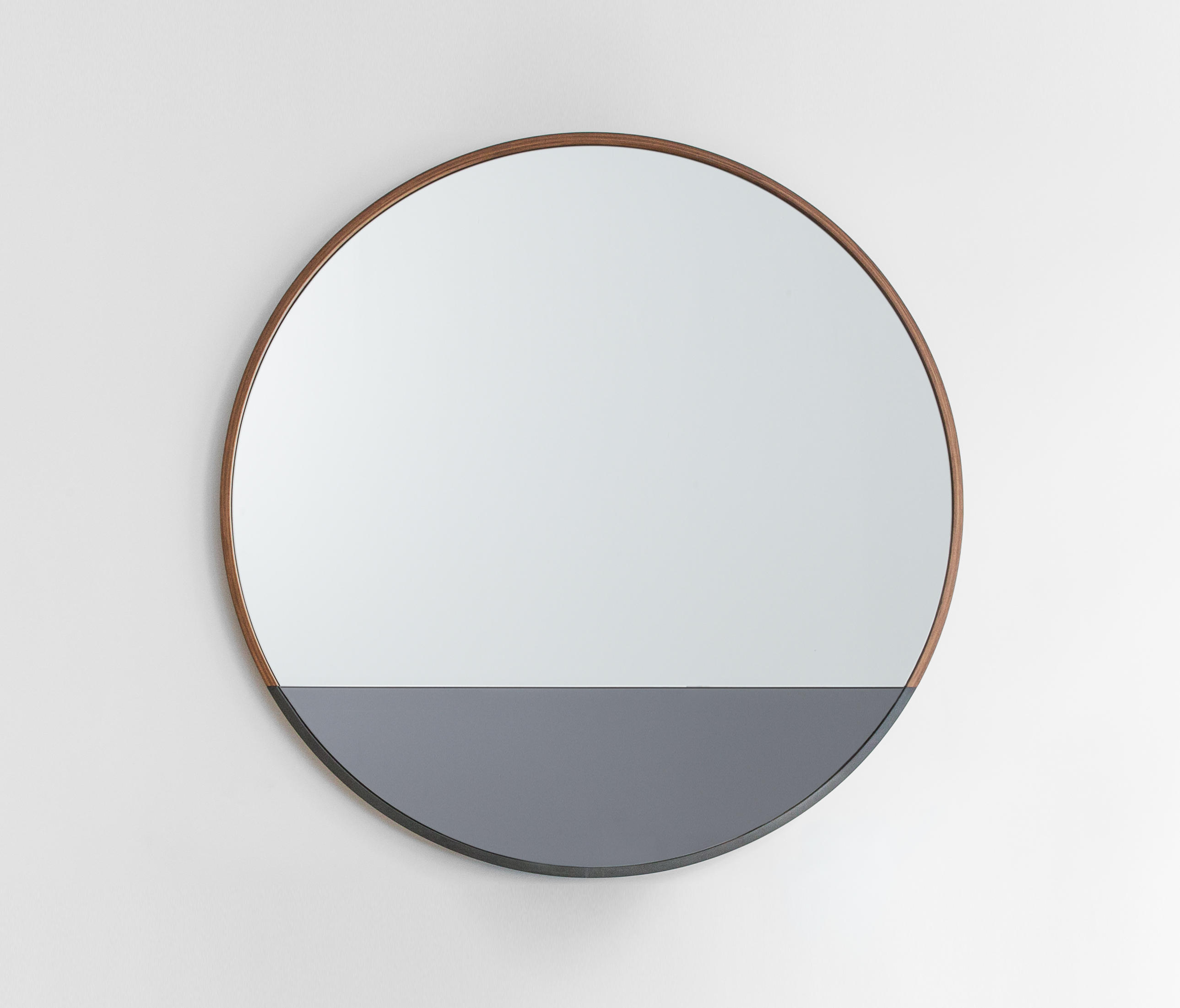 Waterline mirror round mirrors from uhuru design for Round mirror