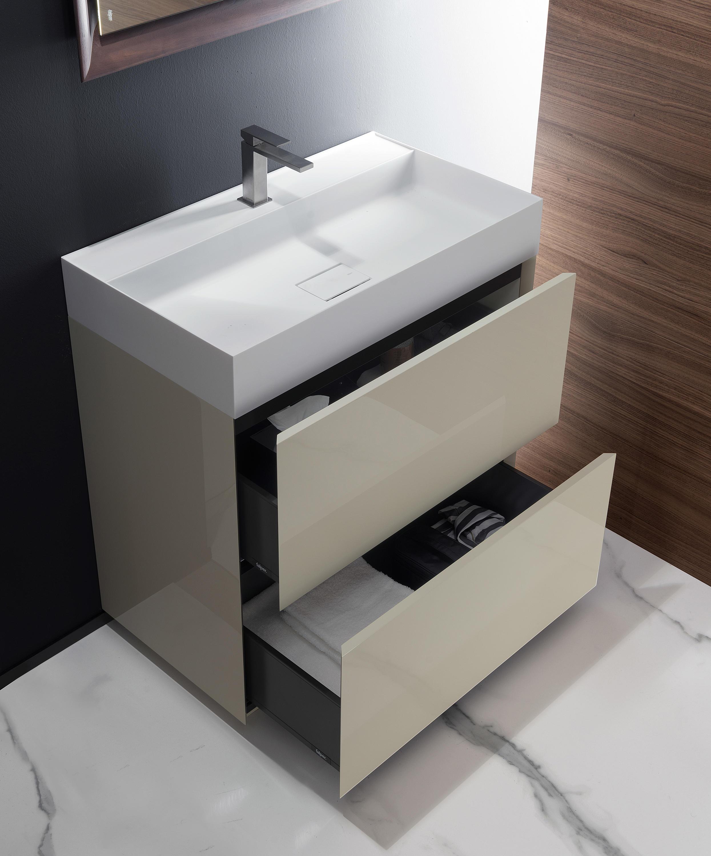 Pure armarios lavabo armarios lavabo de falper architonic for Armarios de lavabo baratos