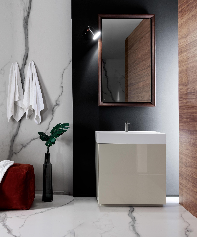 Pure armarios lavabo armarios lavabo de falper architonic for Armarios para lavabos