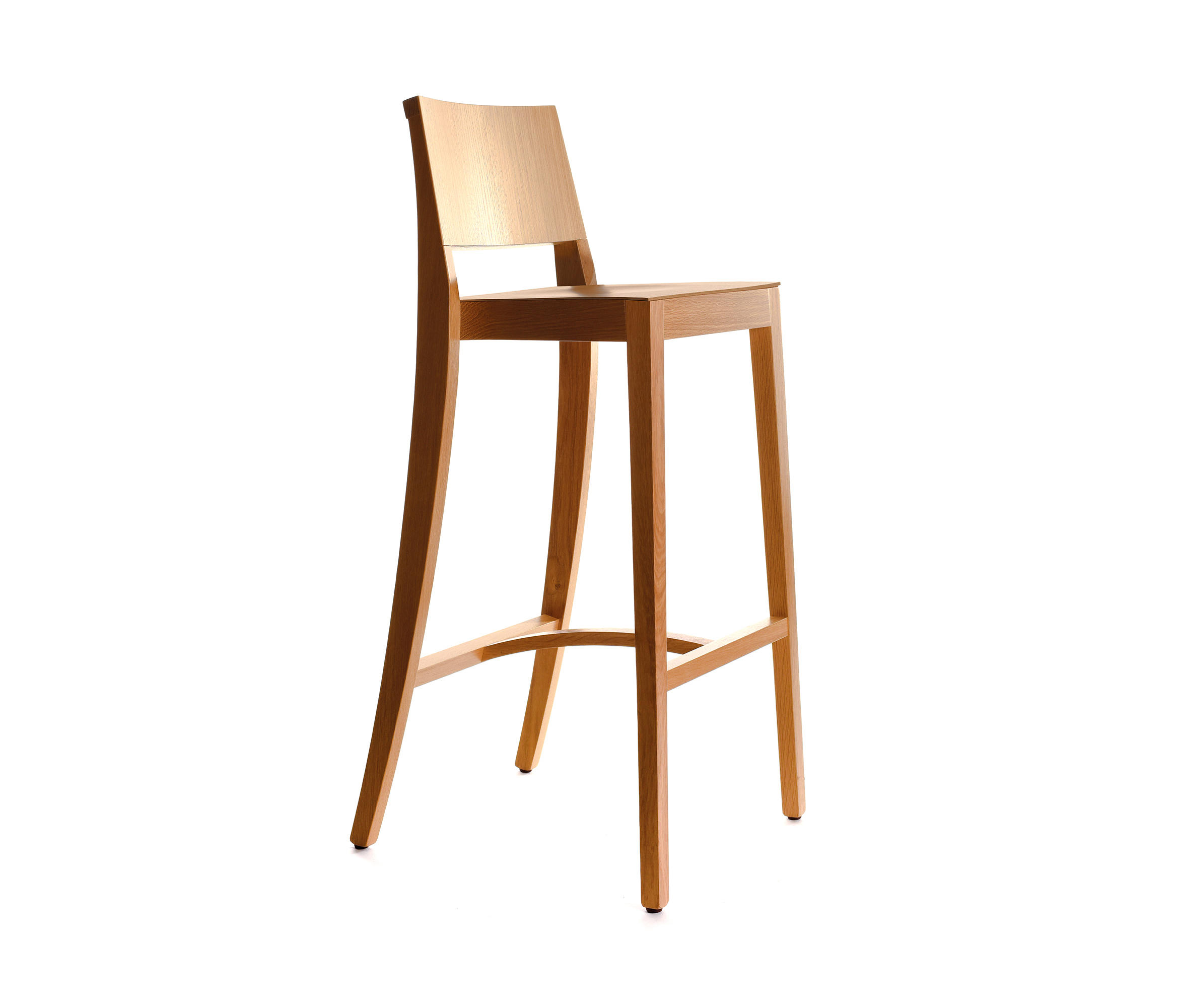 Holz barstuhl osiris bar stools from manufakt architonic for Barstuhl holz
