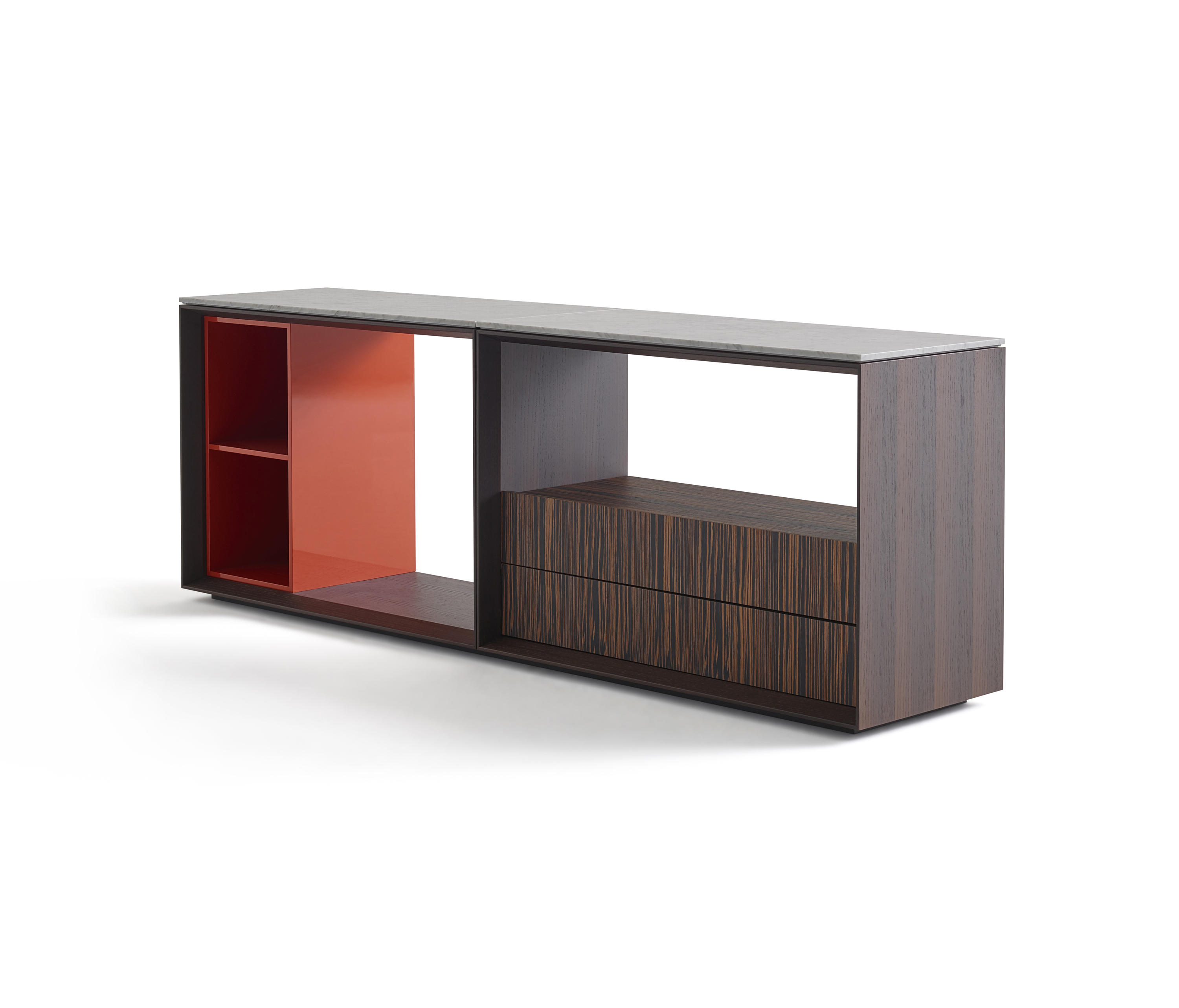 matrioska credenza sideboards from knoll international. Black Bedroom Furniture Sets. Home Design Ideas