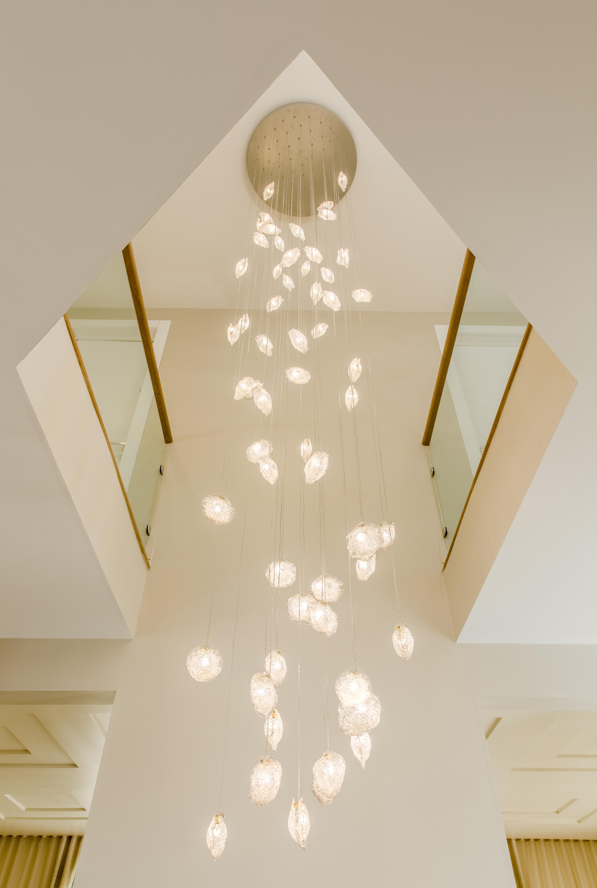 Crystal Shell Suspended Lights From Shakuff Architonic
