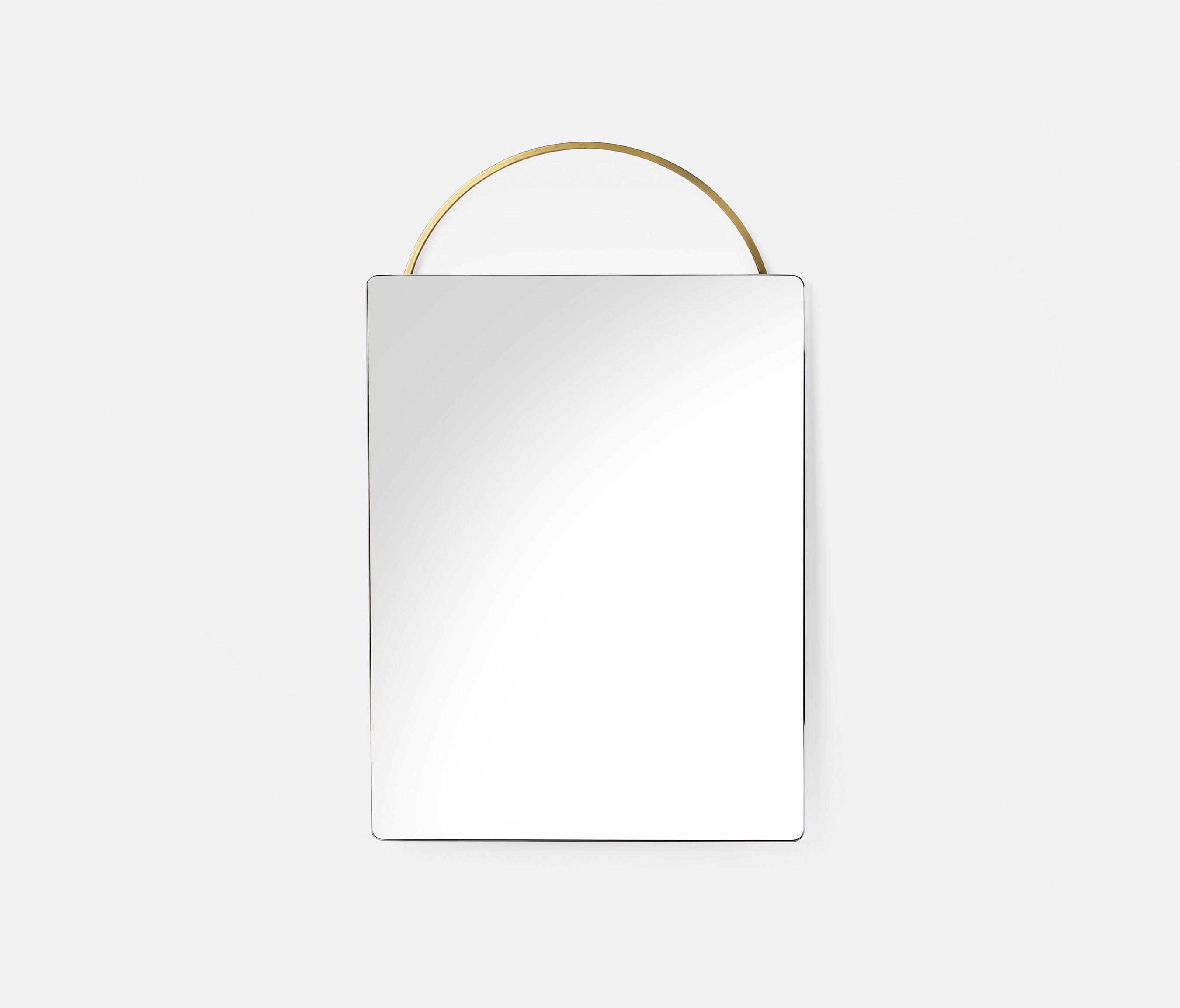 Adorn Brass Mirror   Brass   Face By Ferm LIVING | Mirrors