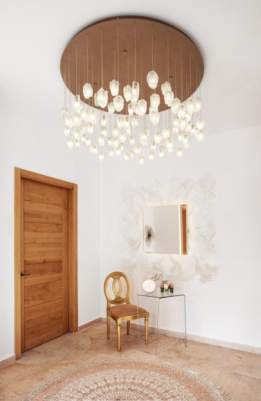 Quartz crystal by shakuff suspended lights