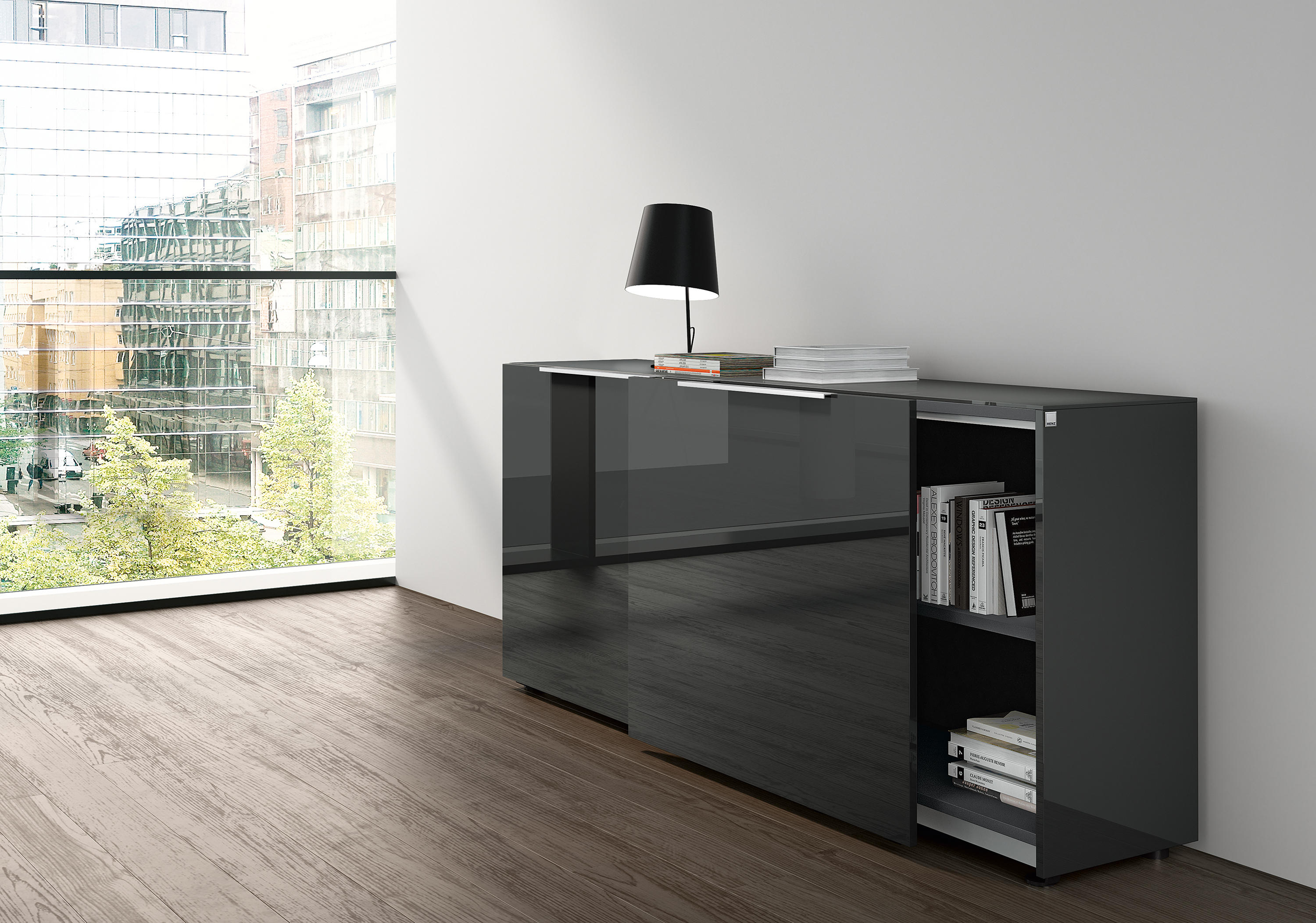 site highboard caissons de renz architonic. Black Bedroom Furniture Sets. Home Design Ideas