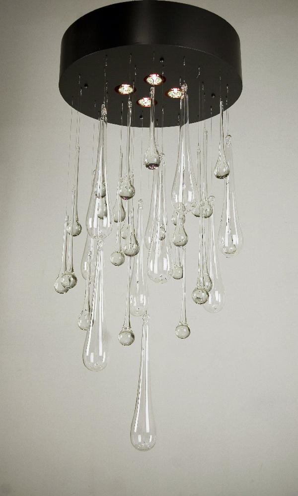 Crystal teardrops chandelier suspended lights from 2nd ave crystal teardrops chandelier by 2nd ave lighting suspended lights aloadofball Images
