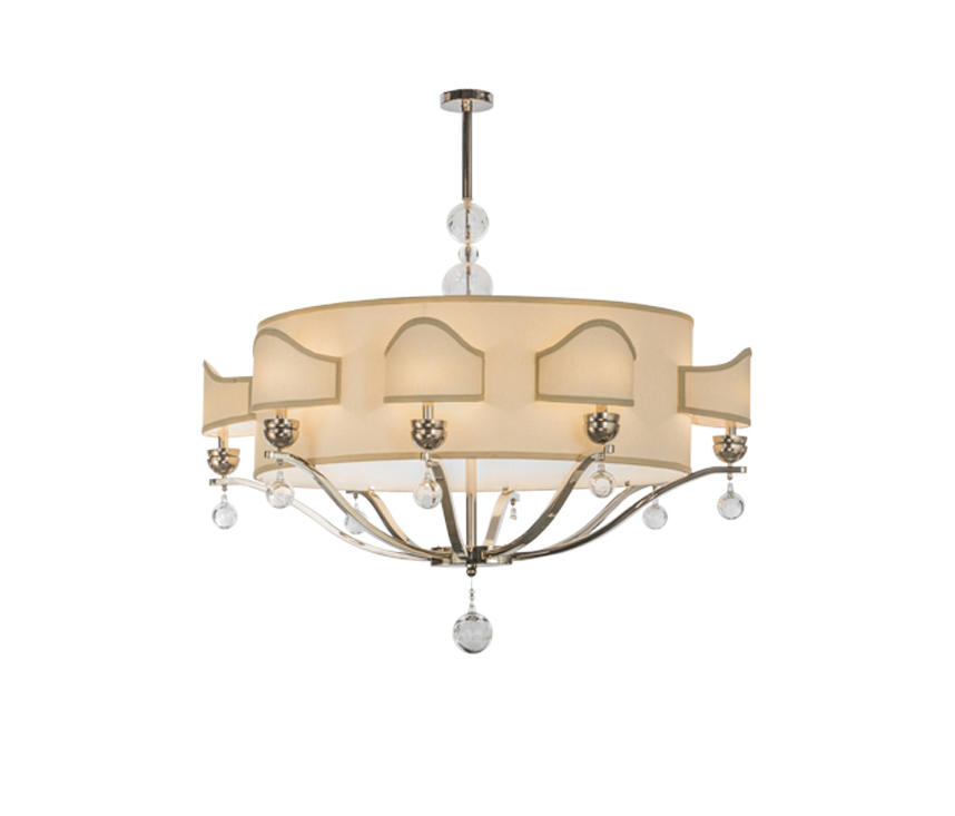 Helena 8 Arm Oblong Chandelier Suspended Lights From 2nd