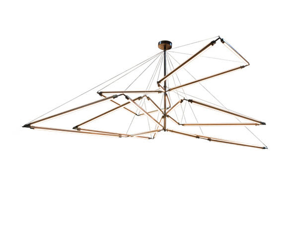 Isotope Chandelier by 2nd Ave Lighting | General lighting  sc 1 st  Architonic & ISOTOPE CHANDELIER - General lighting from 2nd Ave Lighting | Architonic