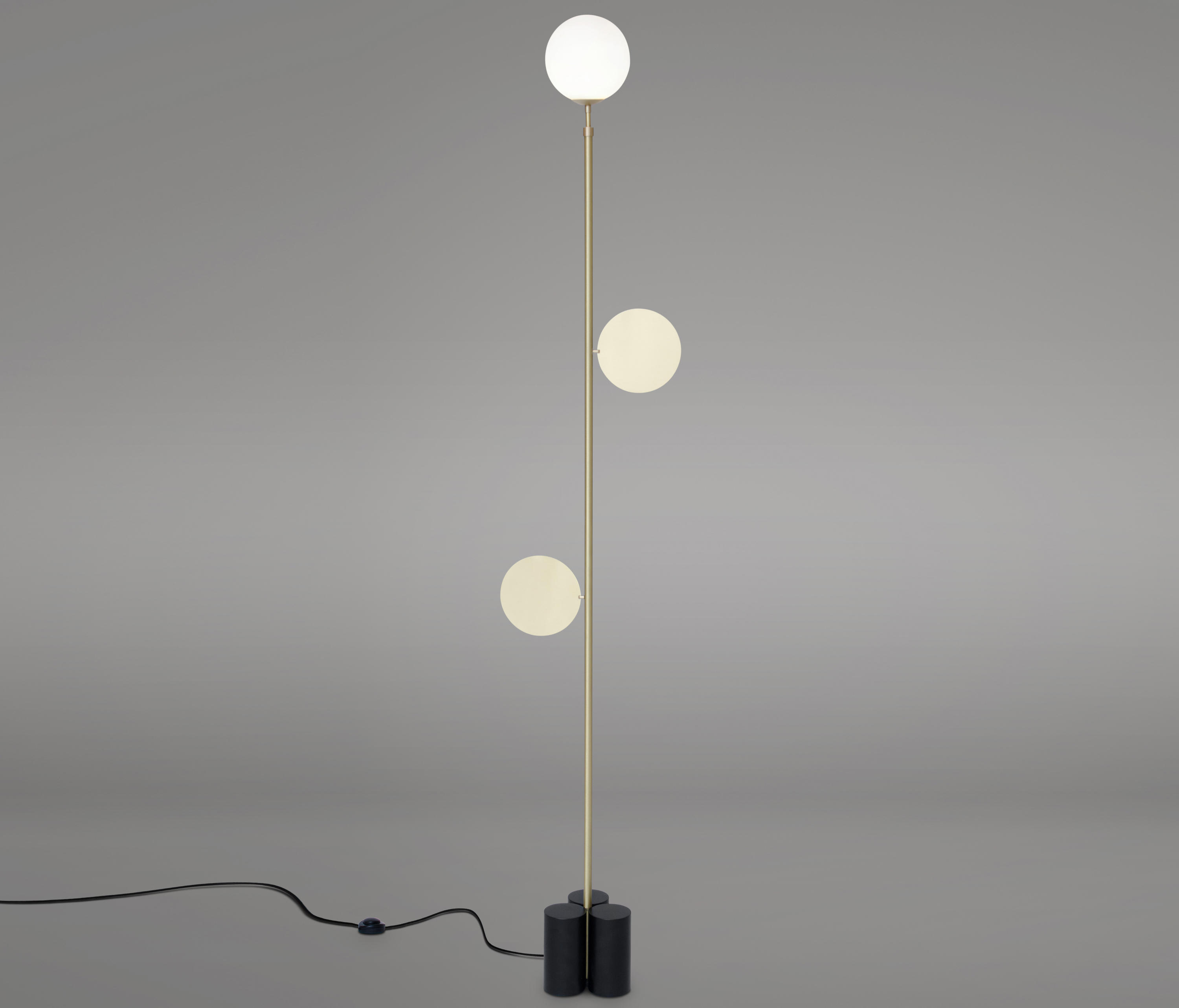 Plates Floor Free Standing Lights From Atelier Areti
