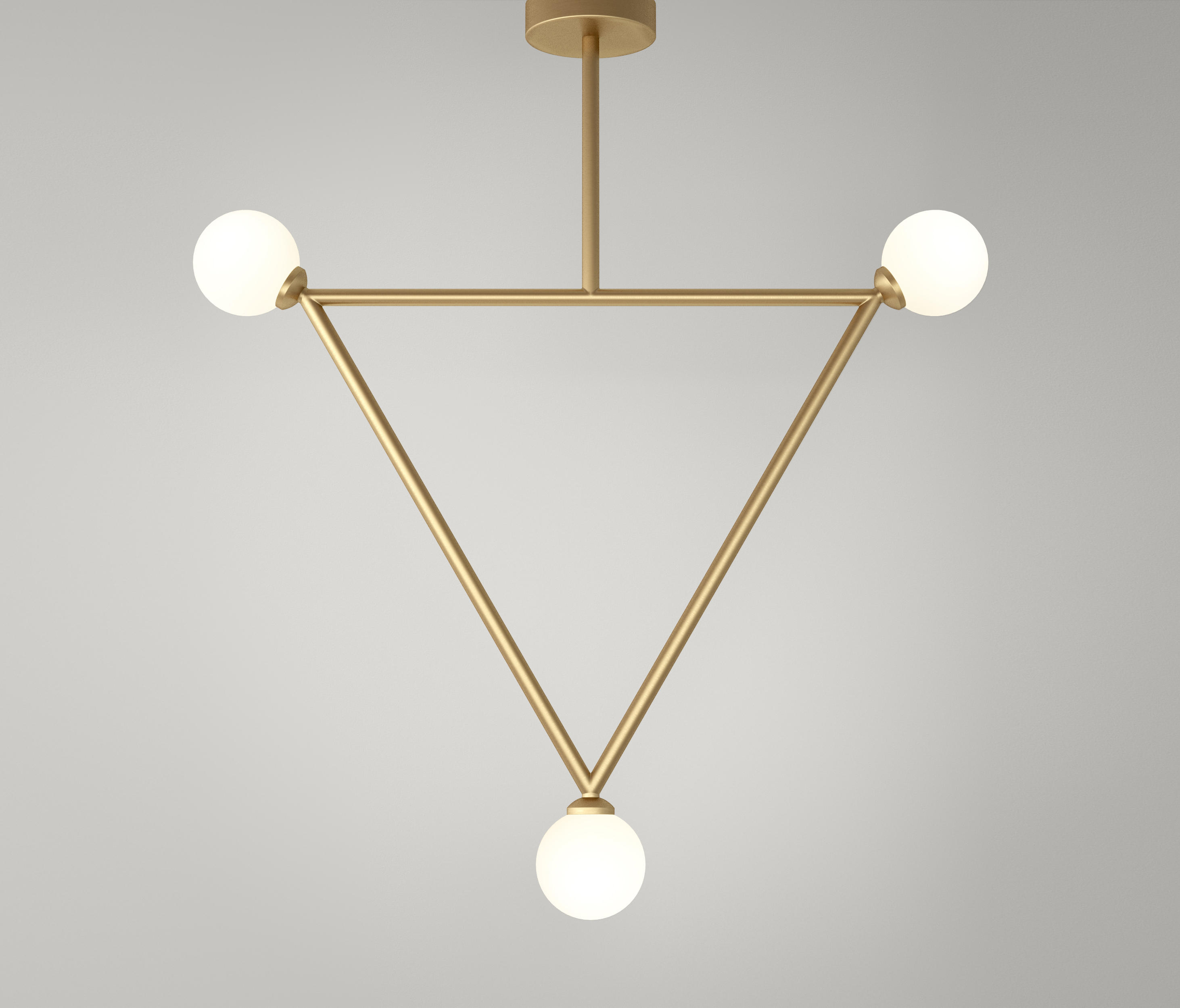Triangle Pendant Globes 03 By Atelier Areti Suspended Lights