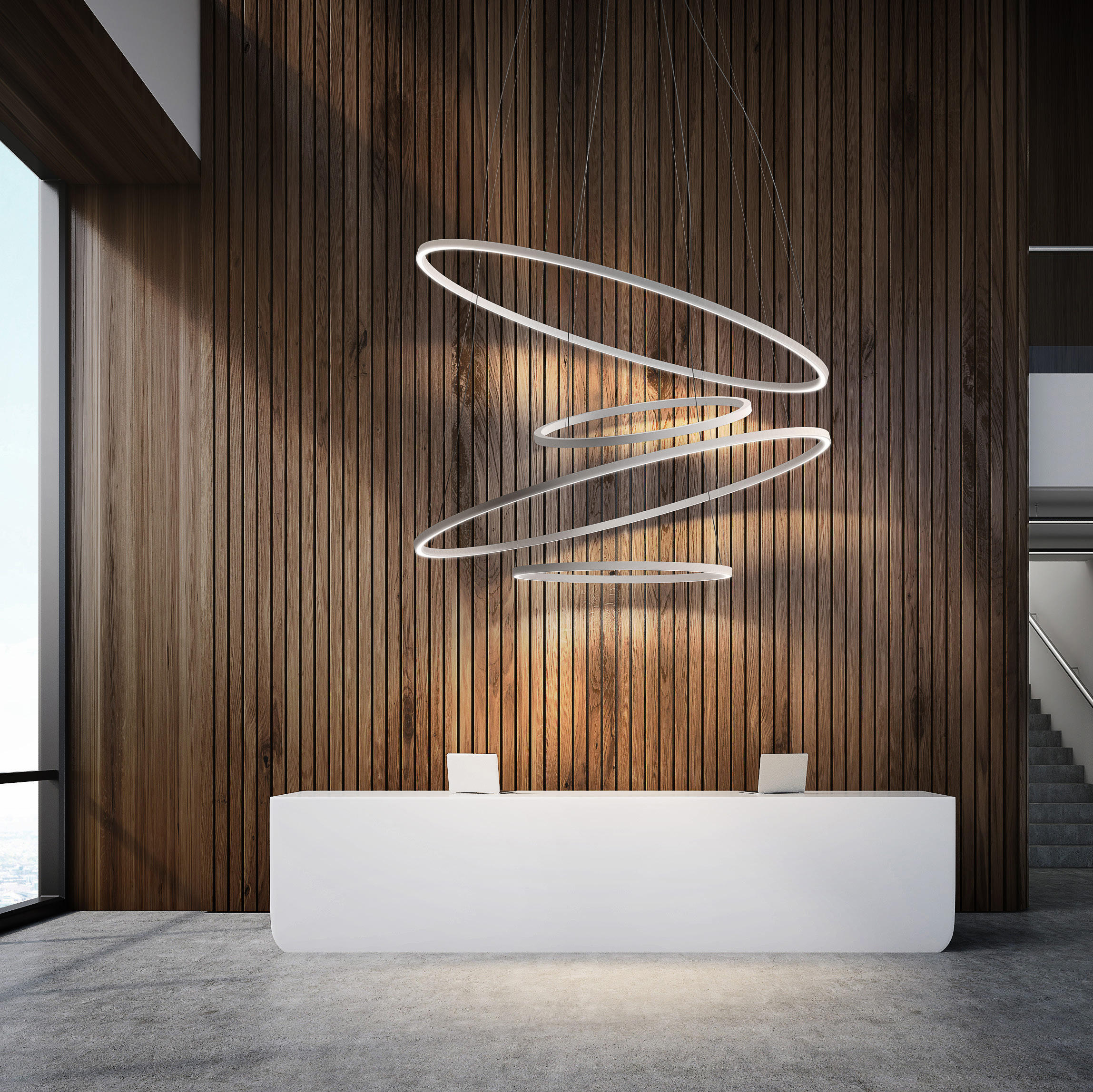 Brooklyn Round Suspended Lights From Panzeri Architonic