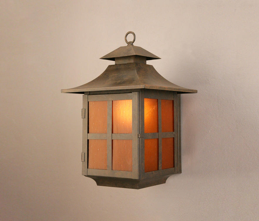 PAGODA WALL SCONCE - Outdoor wall lights from 2nd Ave Lighting ...