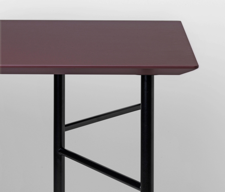 mingle table top bordeaux linoleum 135 cm tabletops from ferm living architonic. Black Bedroom Furniture Sets. Home Design Ideas