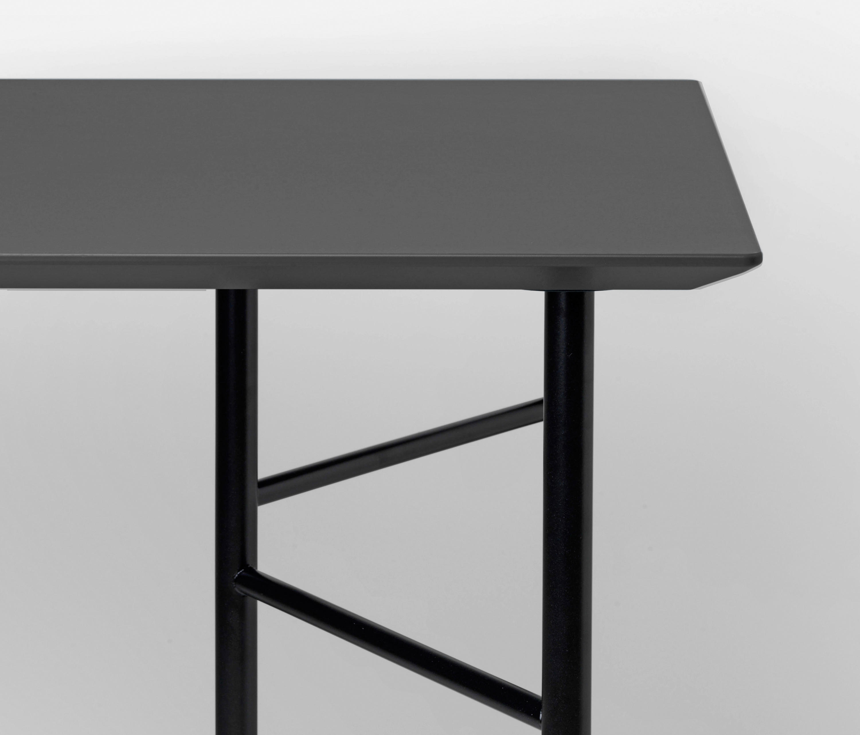 mingle table top charcoal linoleum 135 cm tabletops from ferm living architonic. Black Bedroom Furniture Sets. Home Design Ideas