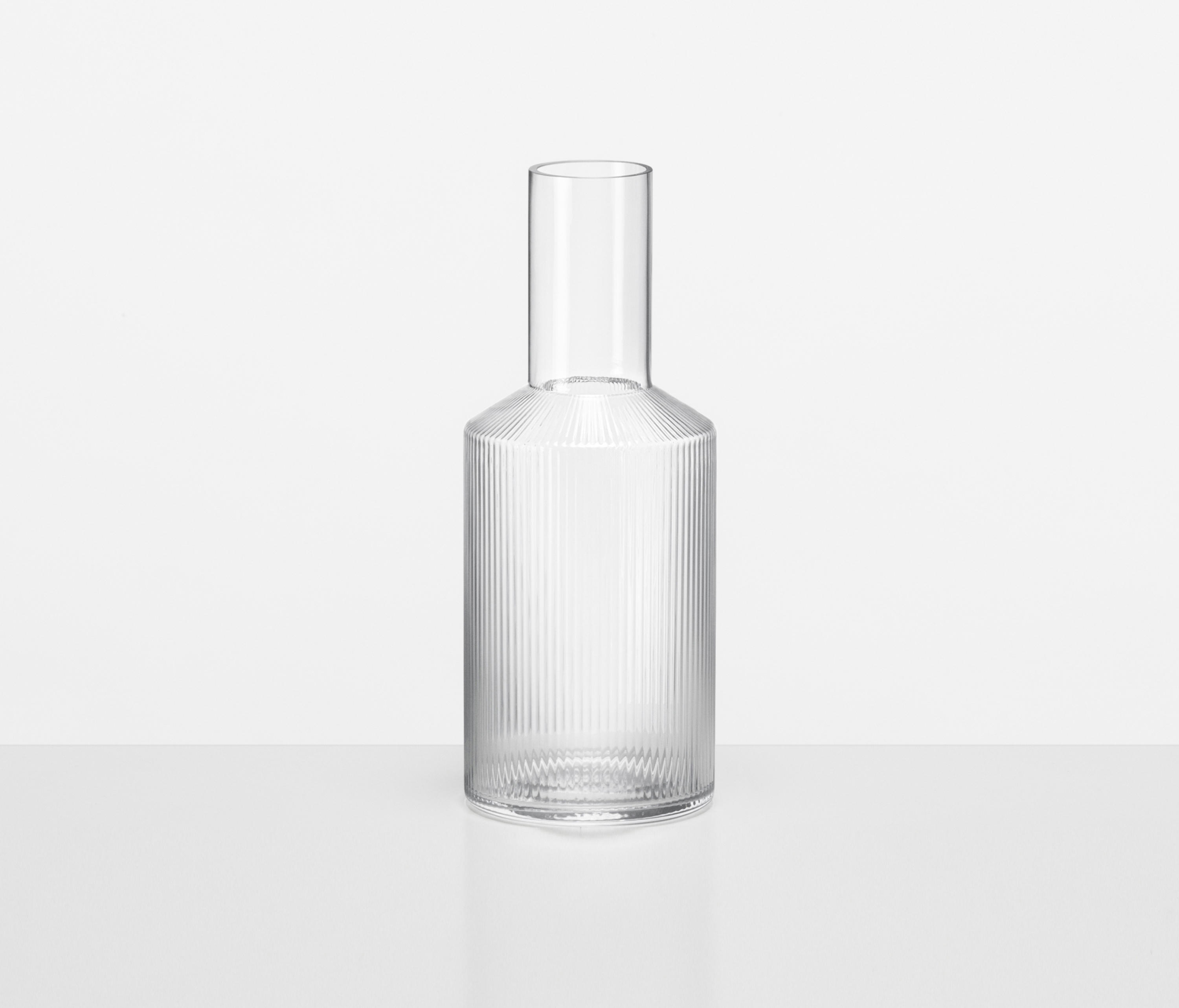 A Carafe That Is A Blind Glass ripple carafe - high quality designer products  architonic