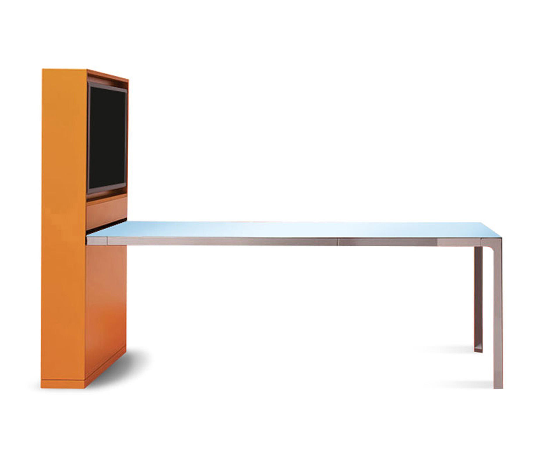 FRAME | MORE - Multimedia conference tables from Estel Group ...