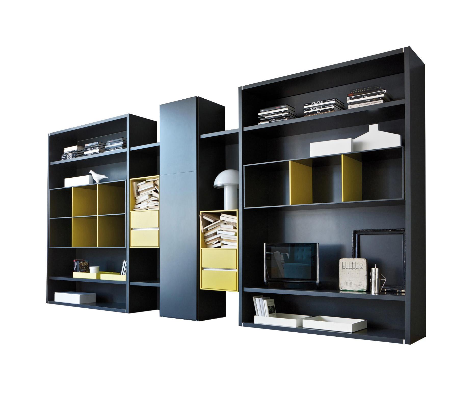 habitat scaffale combinaisons de rangement de estel group architonic. Black Bedroom Furniture Sets. Home Design Ideas