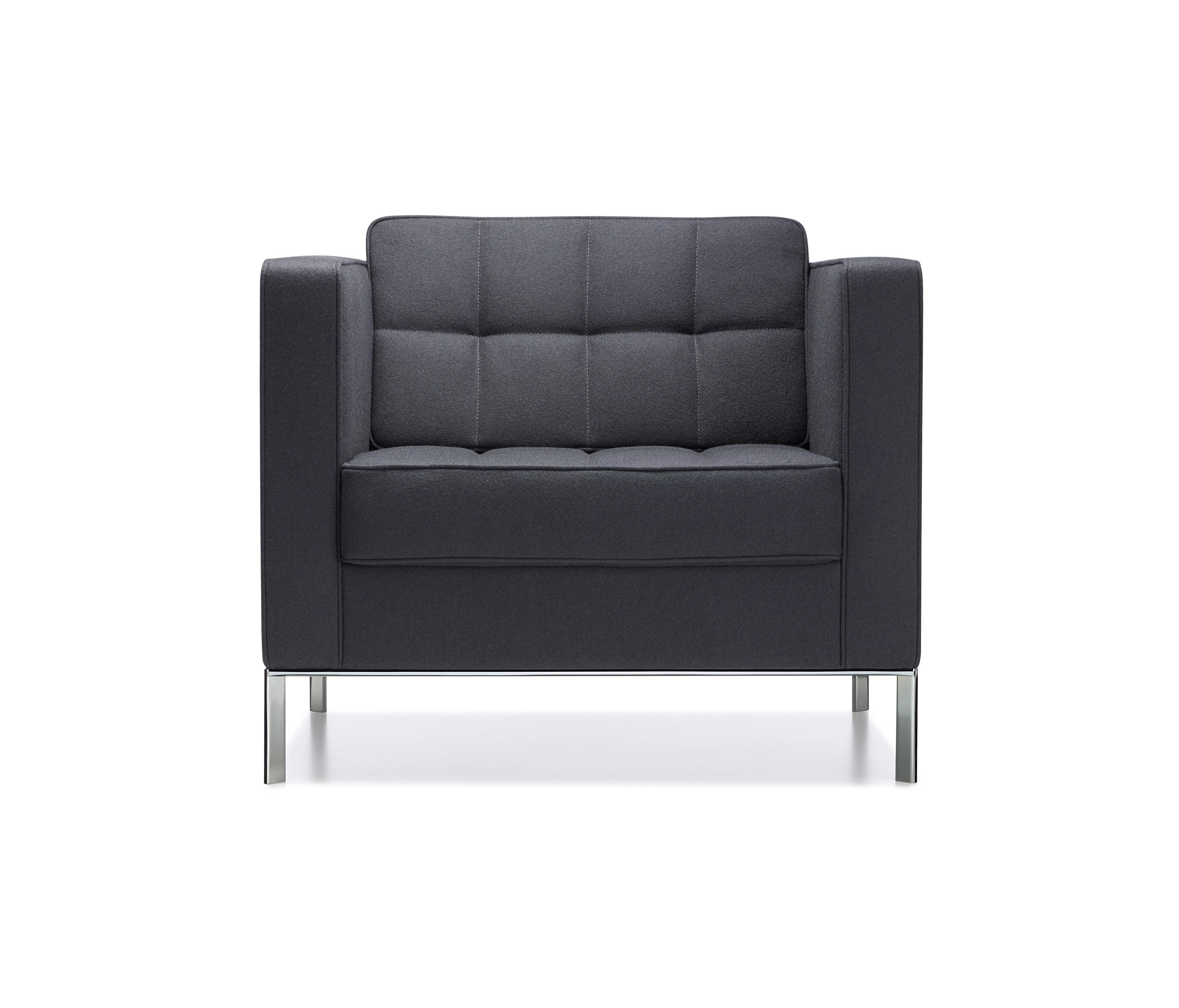 KM Tufted Tuxedo 59711 By Keilhauer | Lounge Chairs ...