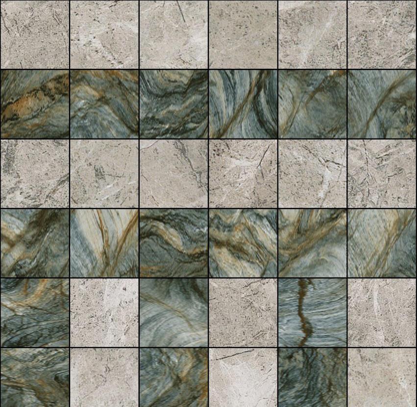 Mosaic Square 6x6 Type A Architonic