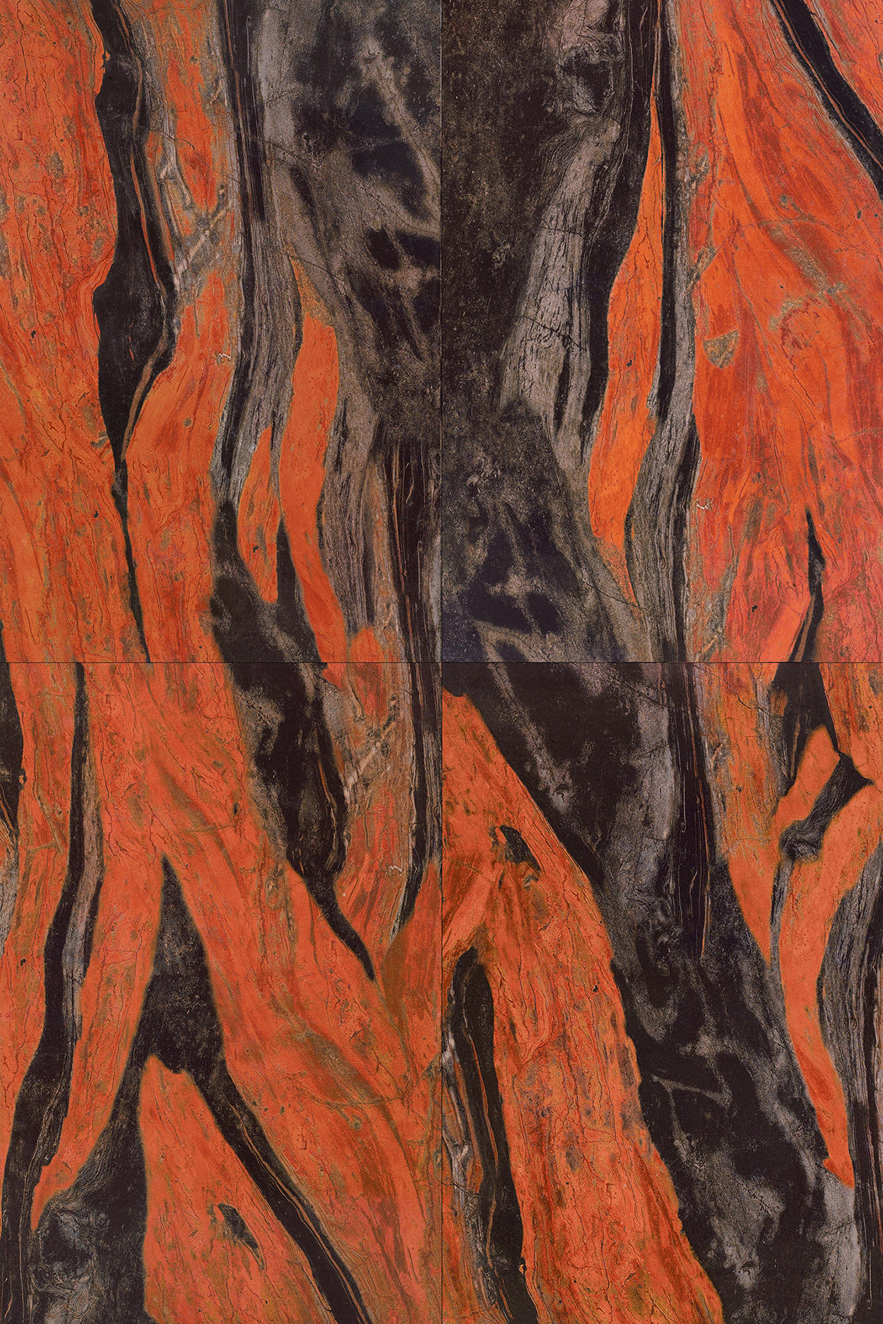 RED   BUTTERFLY RED - Natural stone panels from Gani Marble Tiles