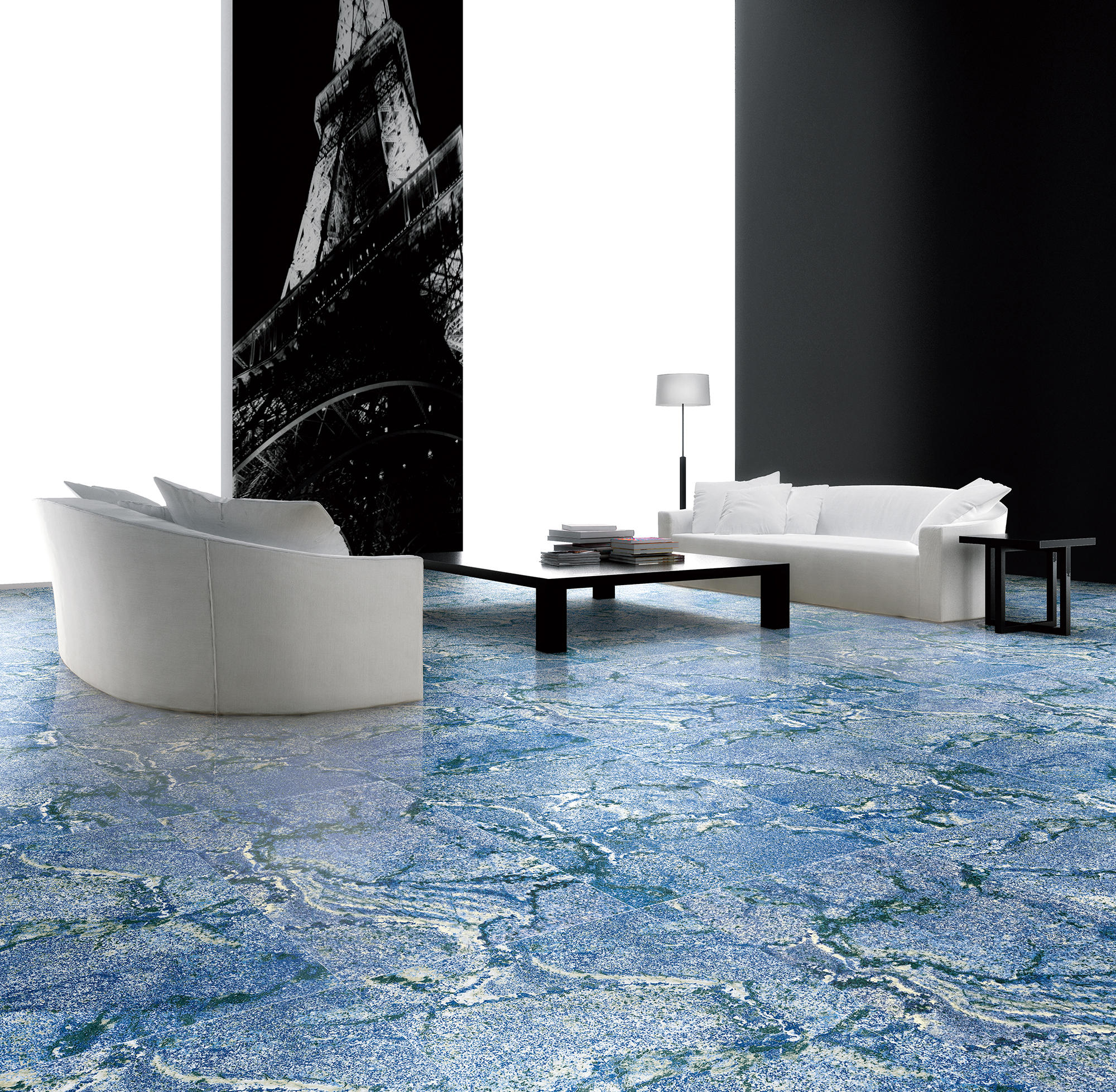 BLUE | AZUL BAHIA - Natural stone panels from Gani Marble Tiles ...
