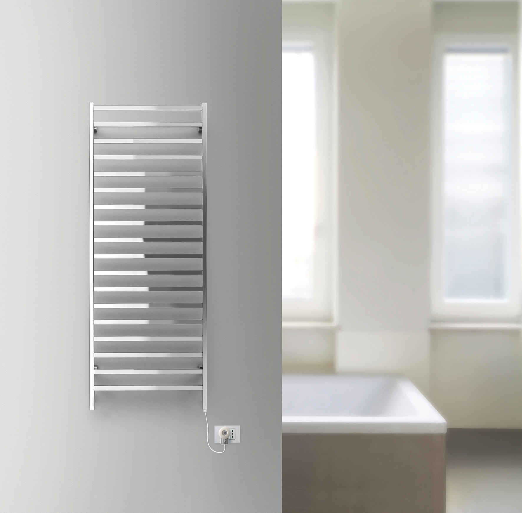 slim q electric radiateurs de deltacalor architonic. Black Bedroom Furniture Sets. Home Design Ideas