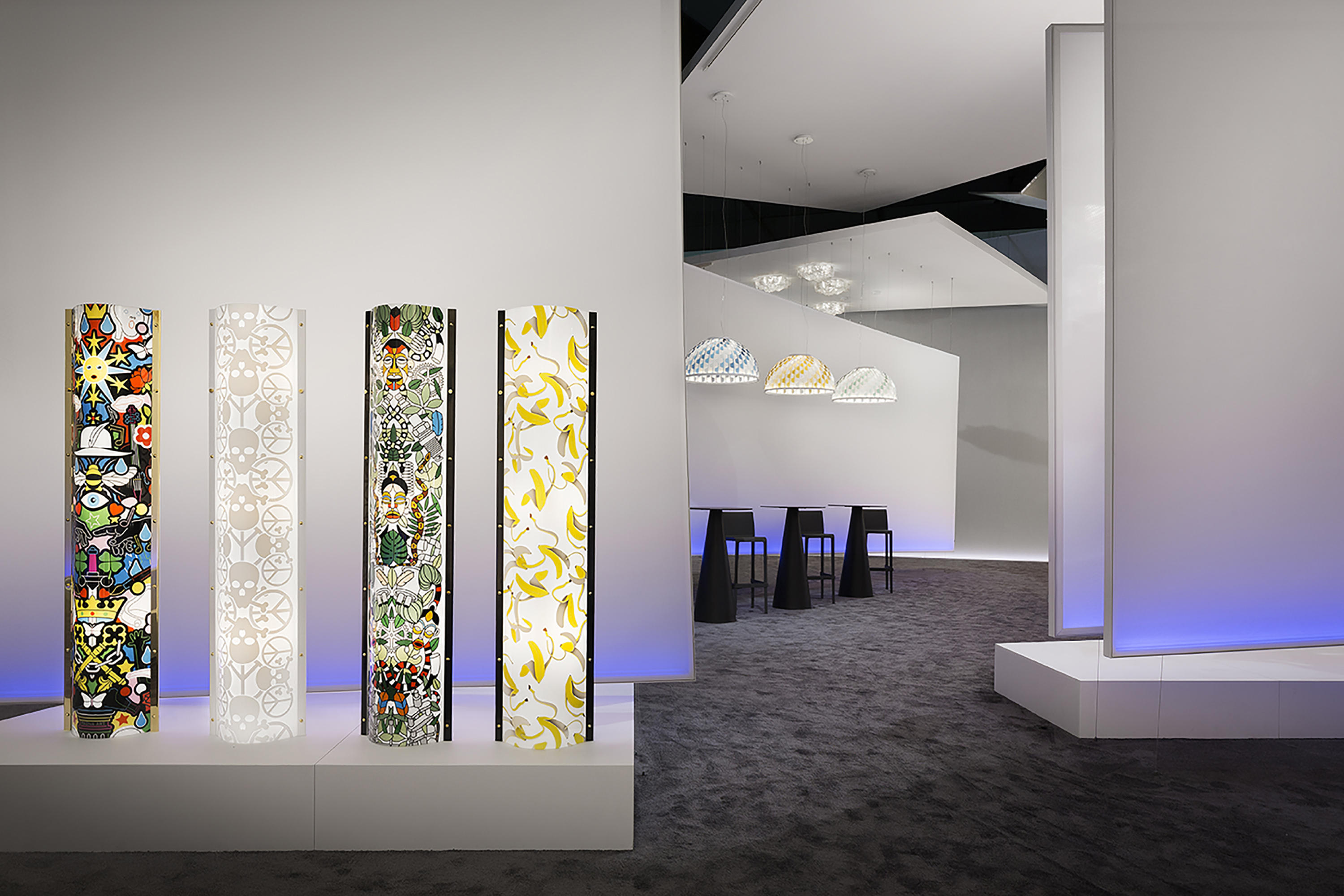 Exhibition Space Design Space Dividers From Dresswall