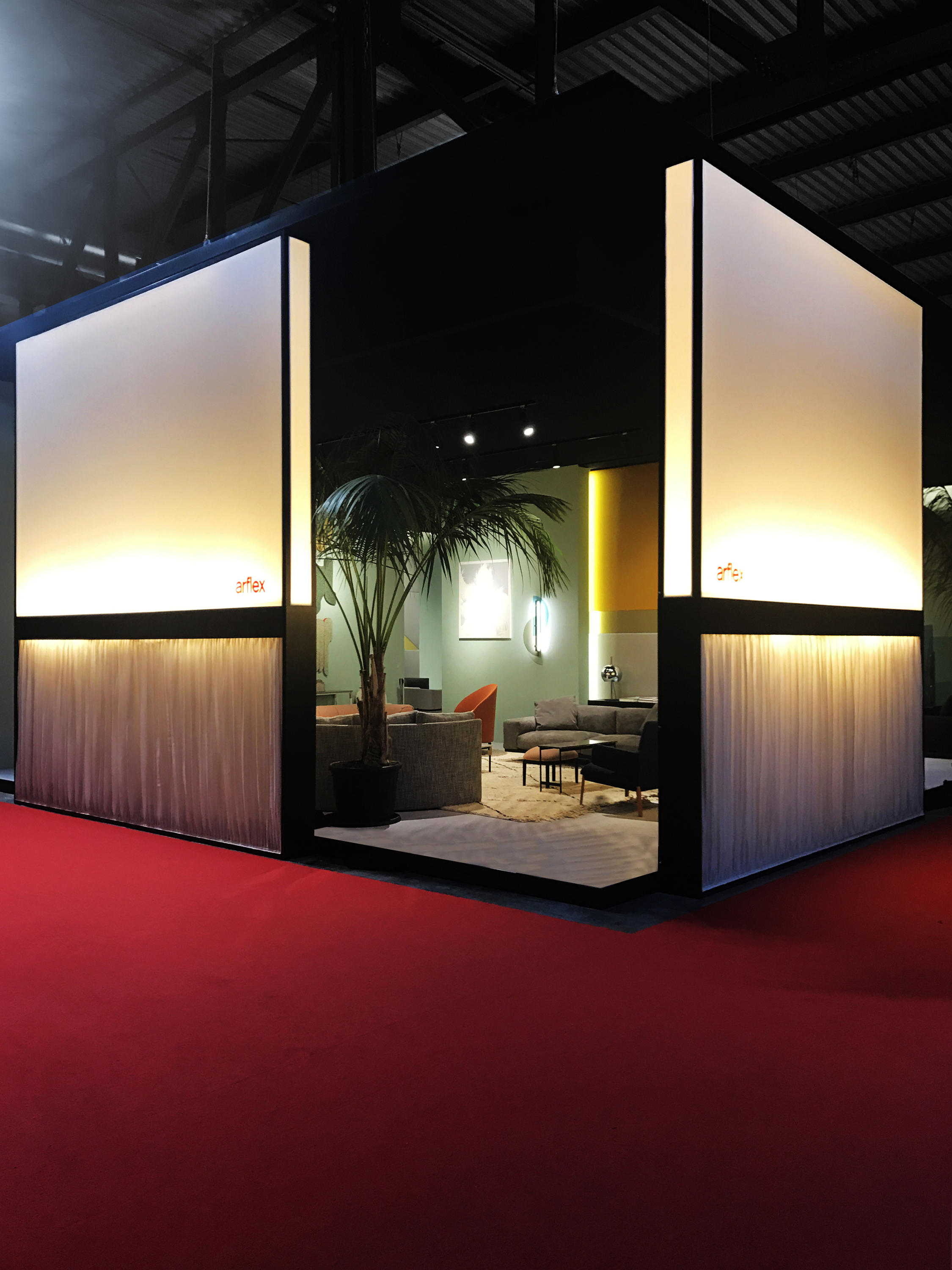Exhibition Space Design Space Dividing Systems From