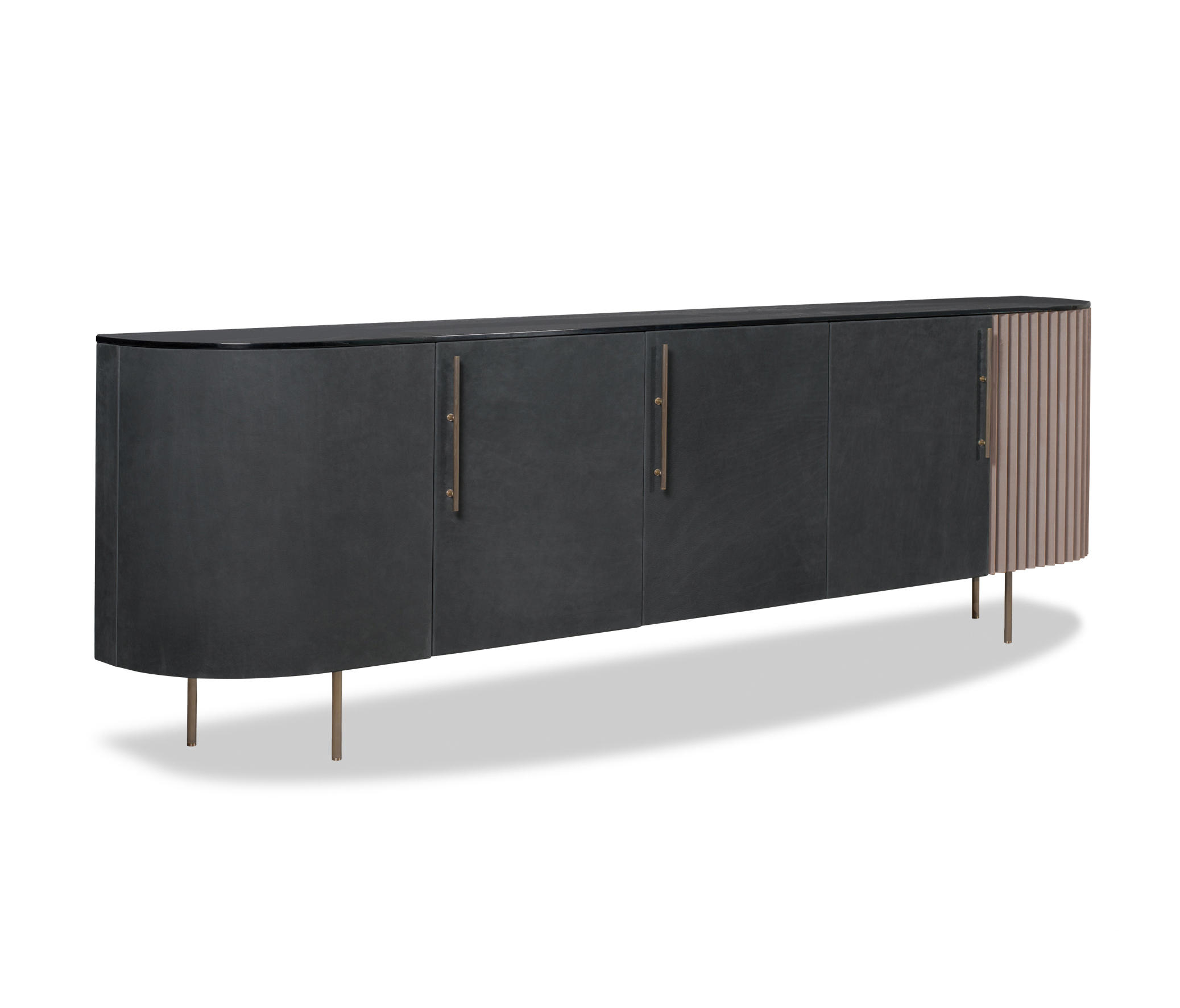 pliss low cabinet sideboards from baxter architonic. Black Bedroom Furniture Sets. Home Design Ideas