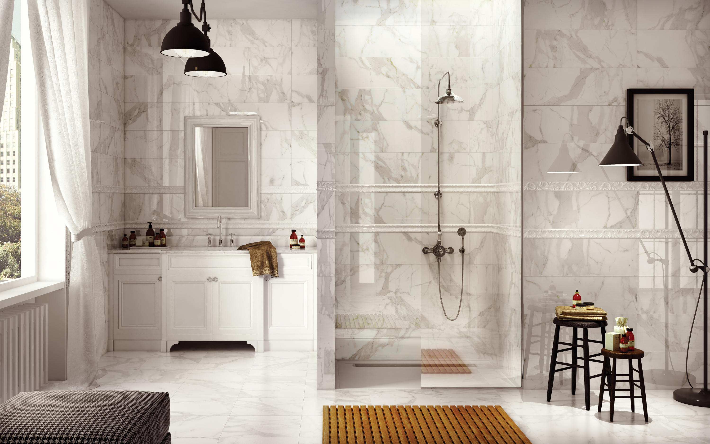 PIETRA SANTA CALACATTA - Ceramic tiles from Cancos | Architonic
