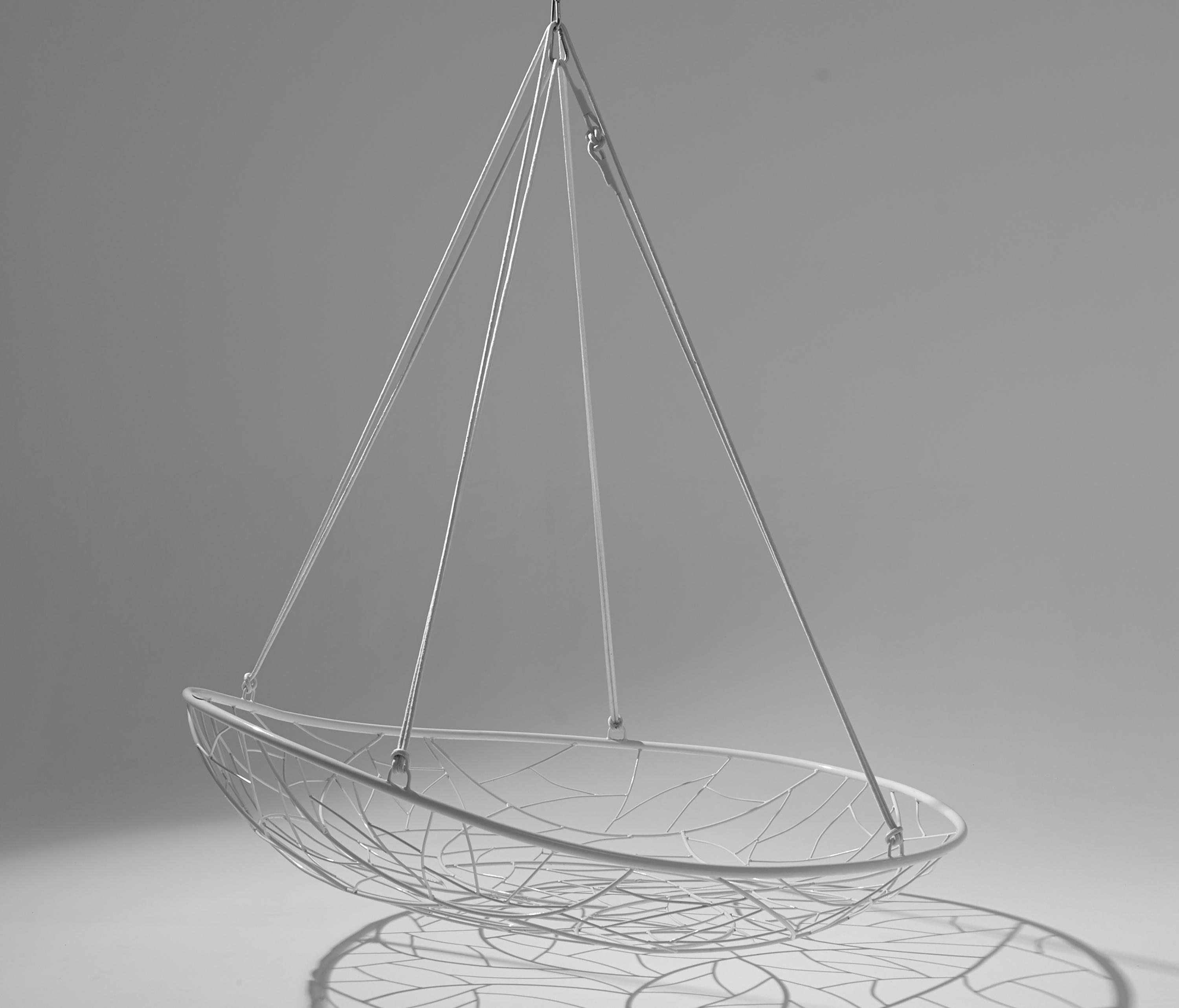 Elegant Big Basket Hanging Swing Chair By Studio Stirling | Garden Chairs ... Pictures