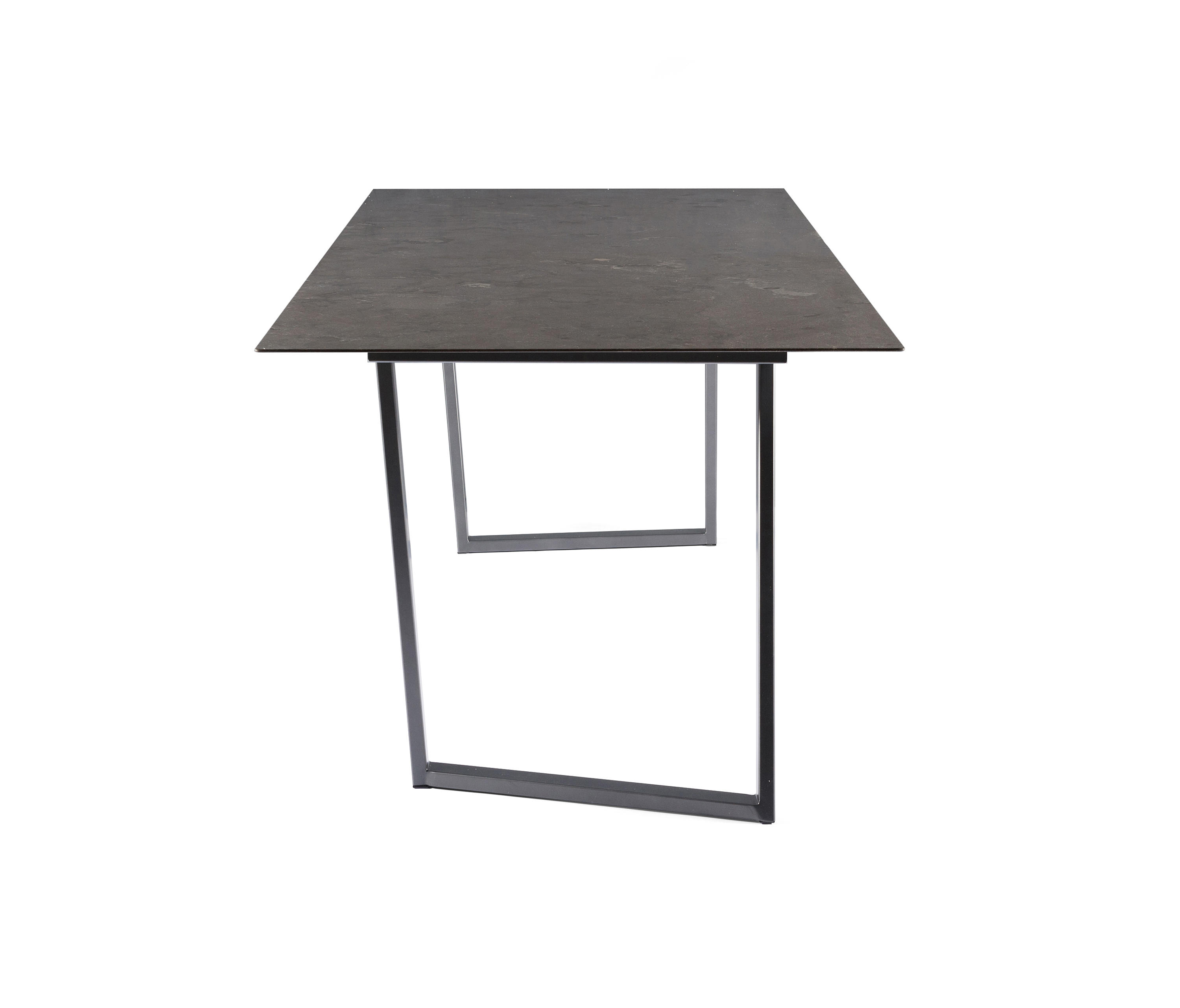 Square restaurant tables - Dritto Dining Table 220 X 90 Cm By Salvatori Restaurant Tables