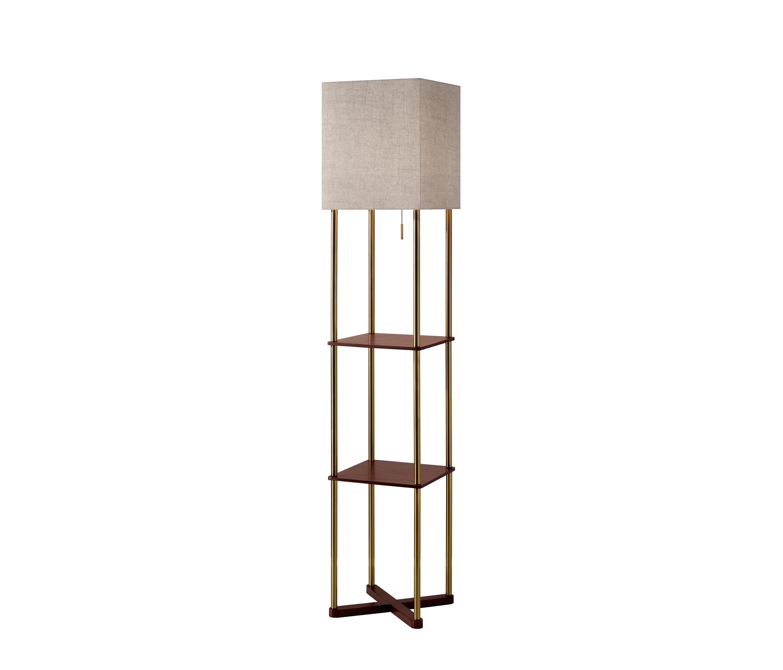 Harrison Shelf Floor Lamp Architonic