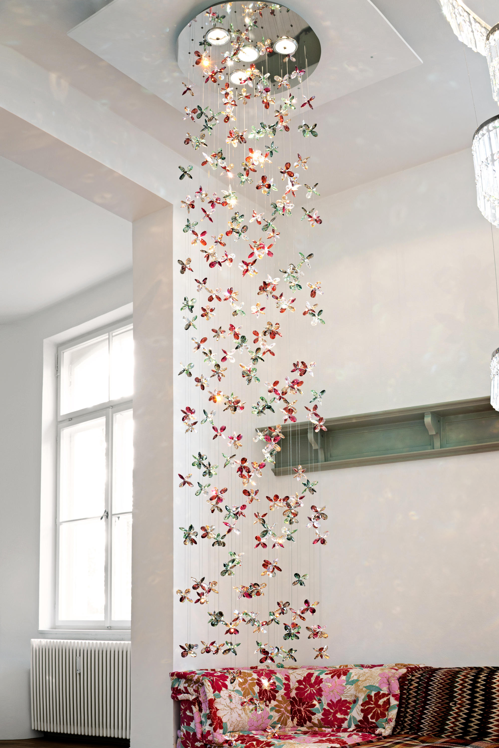 Flower 222 ceiling suspended chandeliers from windfall architonic flower 222 by windfall ceiling suspended chandeliers arubaitofo Choice Image