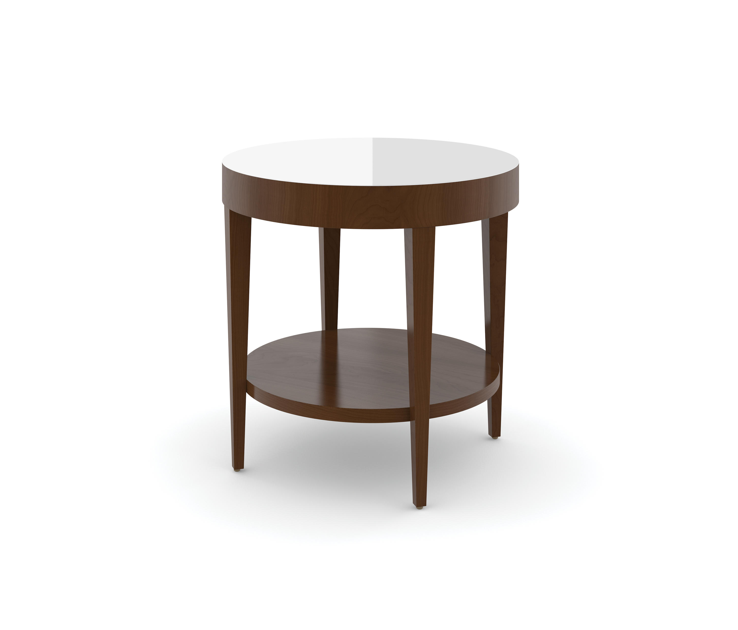 Edge Table Round Occasional Table Etched Tempered Glass Side Tables From Trinity Furniture