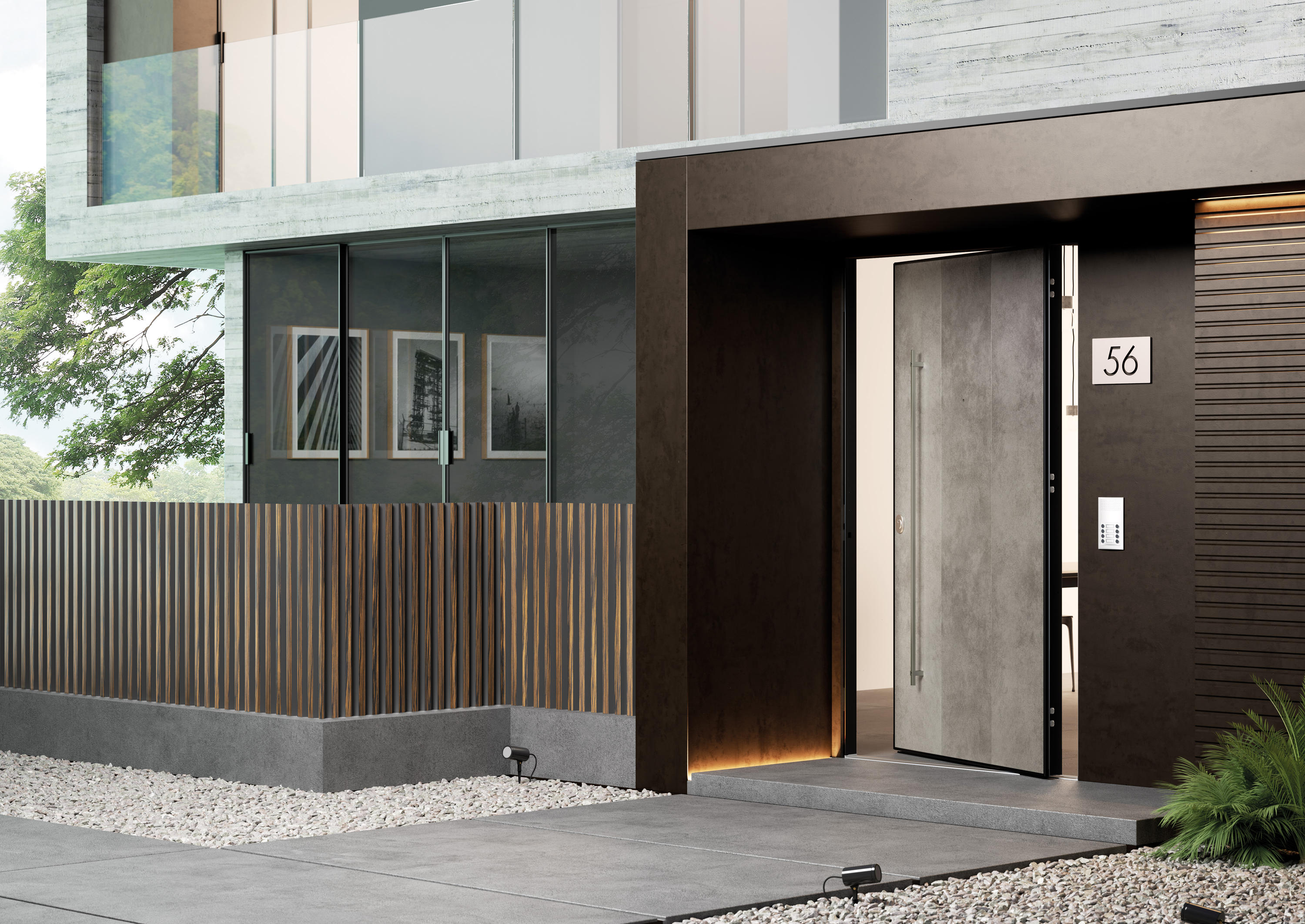 DI.BIG PIVOT - Front doors from Di.Bi. Porte Blindate | Architonic