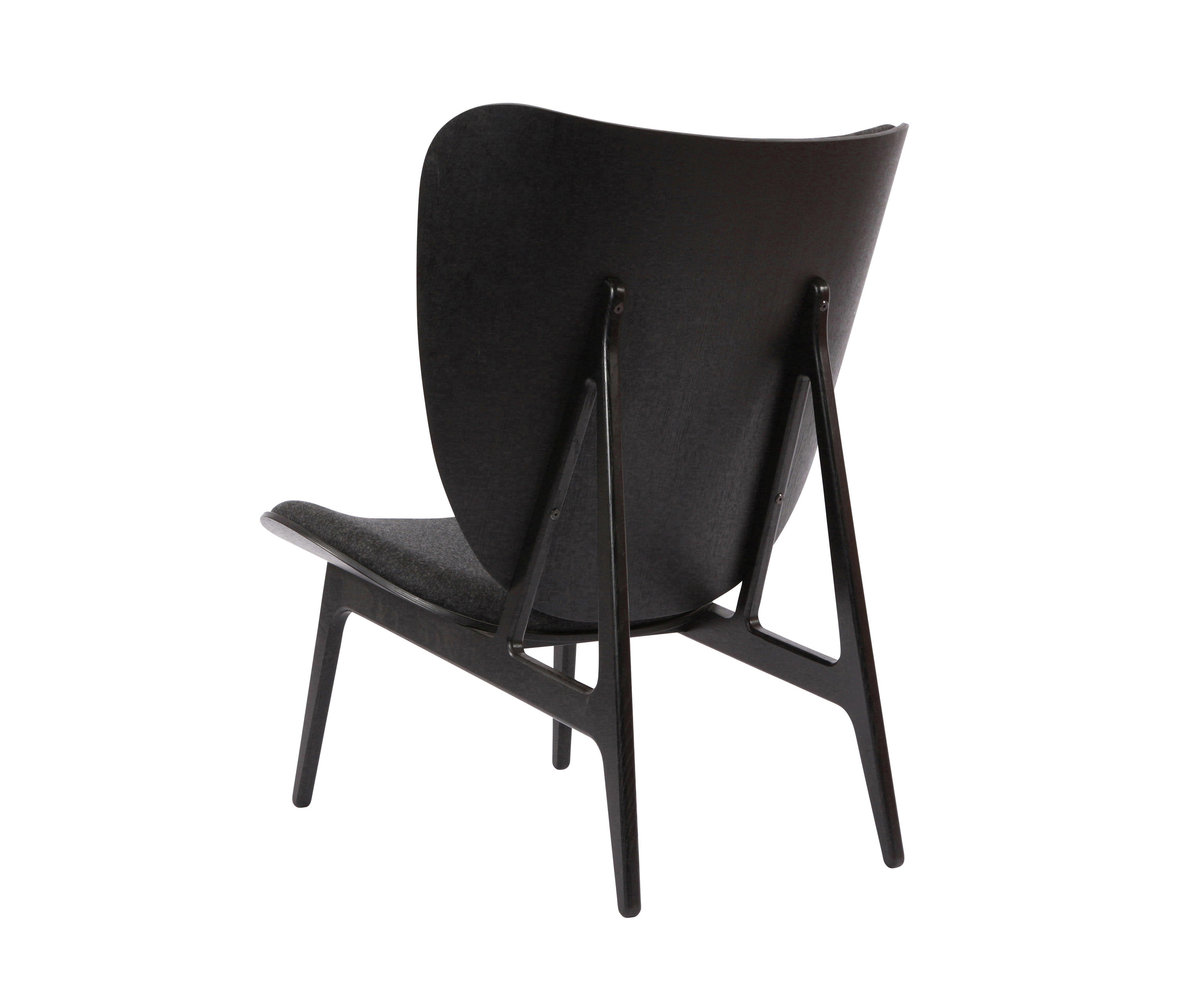 ... Elephant Chair, Black / Wool: Coal Grey 067 By NORR11 | Lounge Chairs  ...