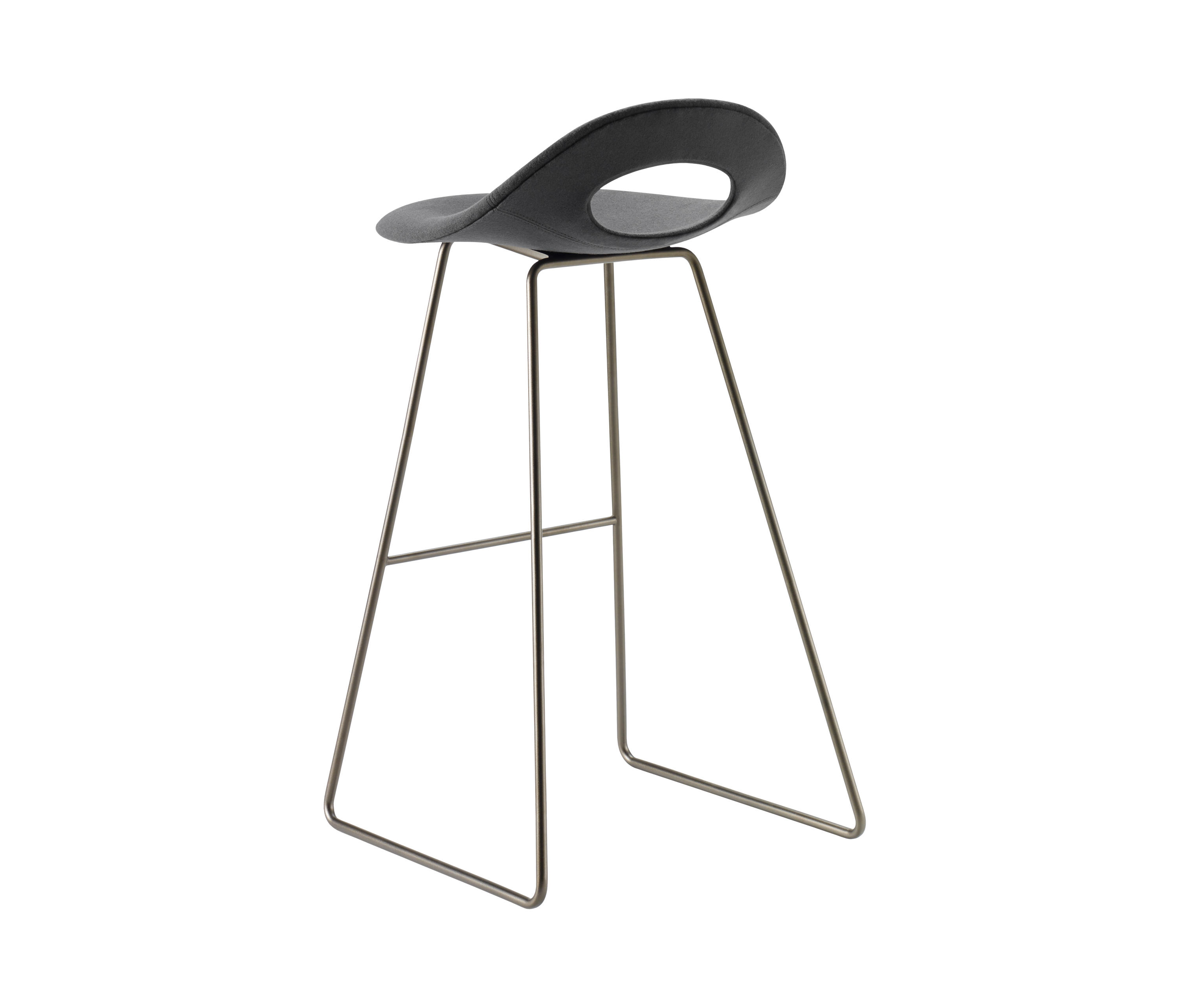 Say O Bar Stool Metal Architonic