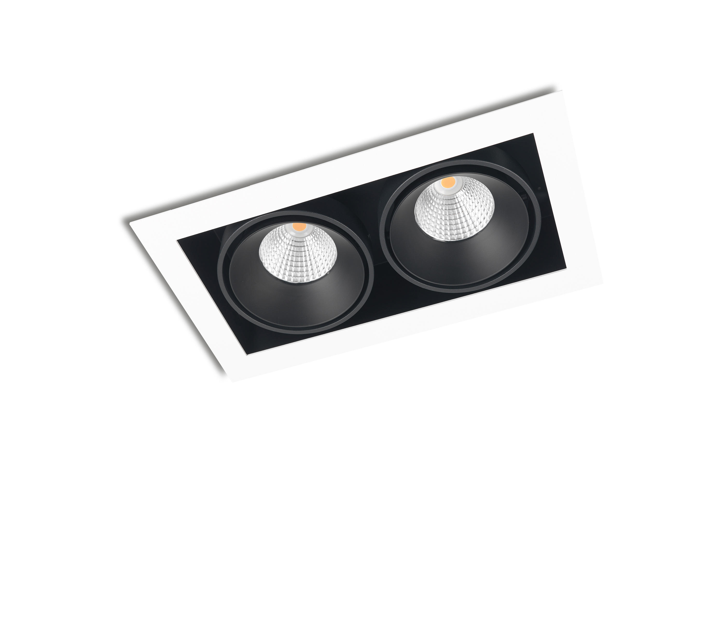FRAME DOUBLE 2X CONE COB LED - Recessed ceiling lights from Orbit ...