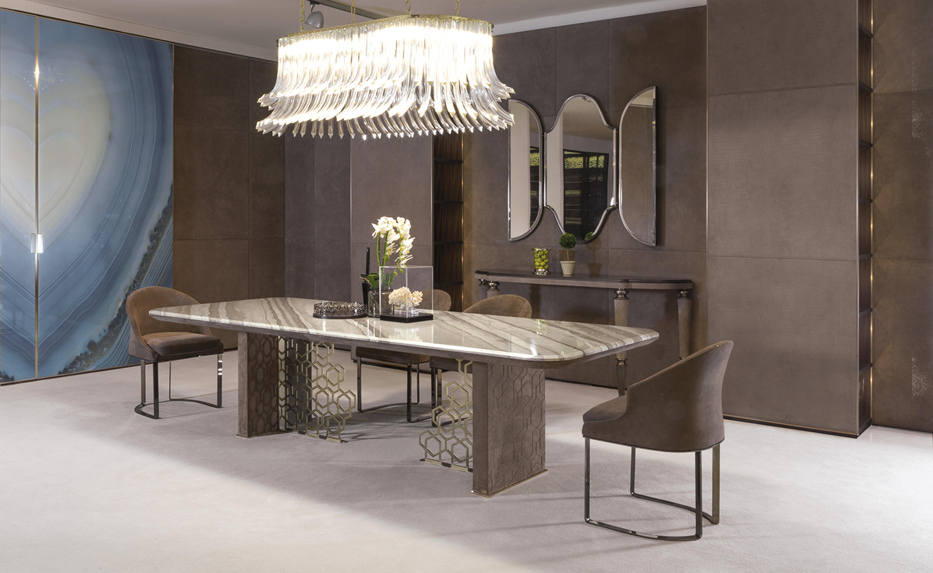 Excelsior Dining Tables From Longhi Spa Architonic