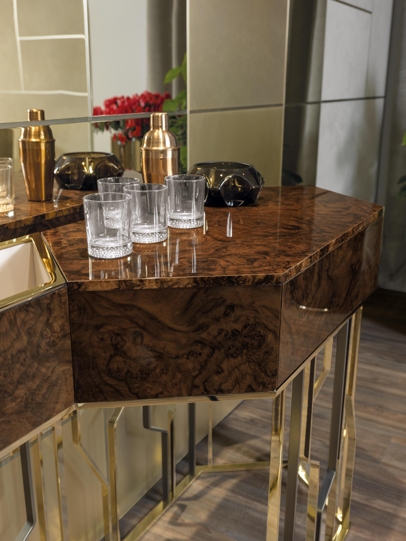 Ginzaevo tavoli a consolle longhi s p a architonic for Produttori tavoli