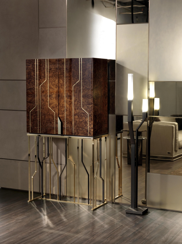 ginzabar barschr nke hausbars von longhi s p a. Black Bedroom Furniture Sets. Home Design Ideas