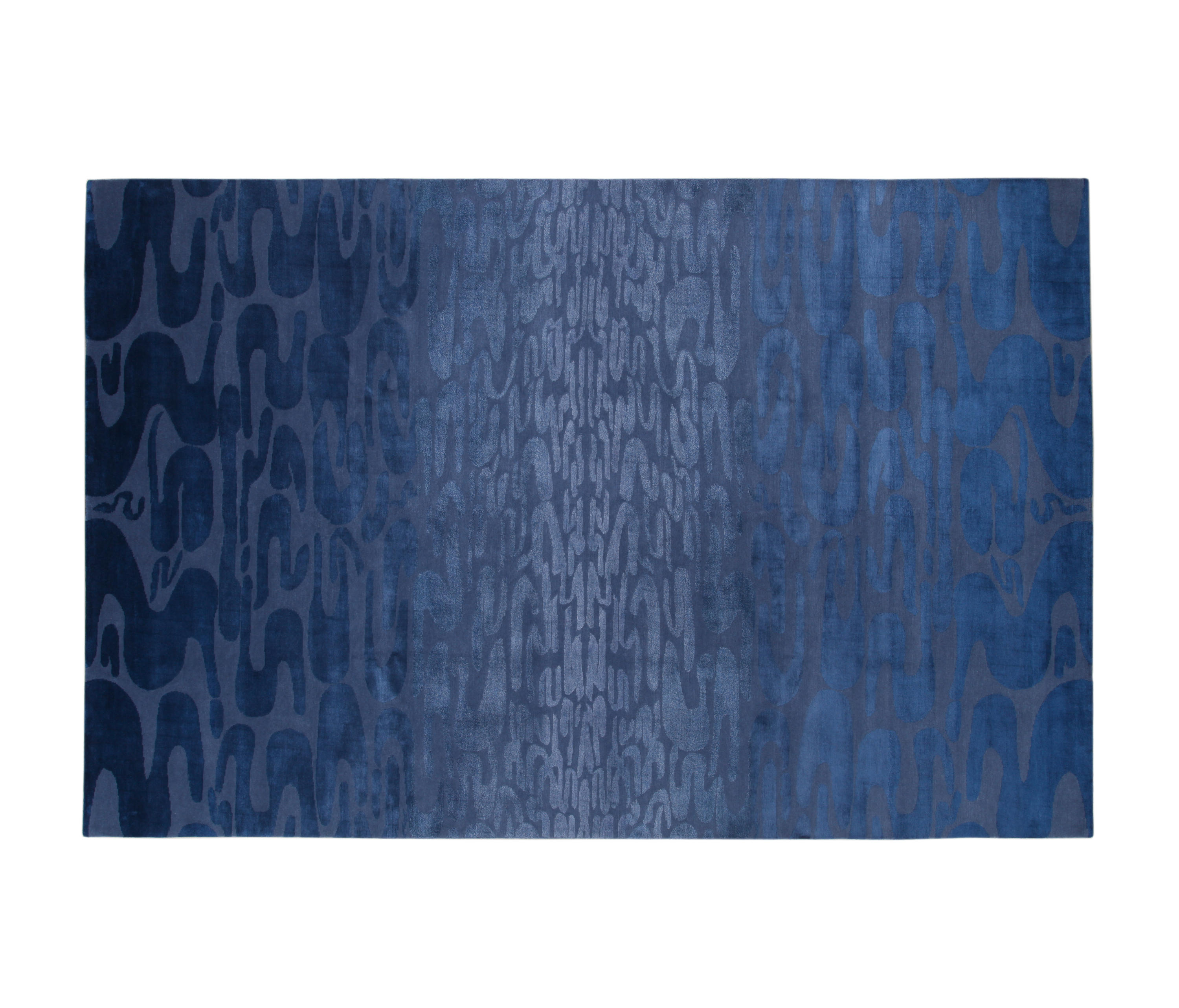quatrefoil product blue rugs rug flat company geometric home luxe woven