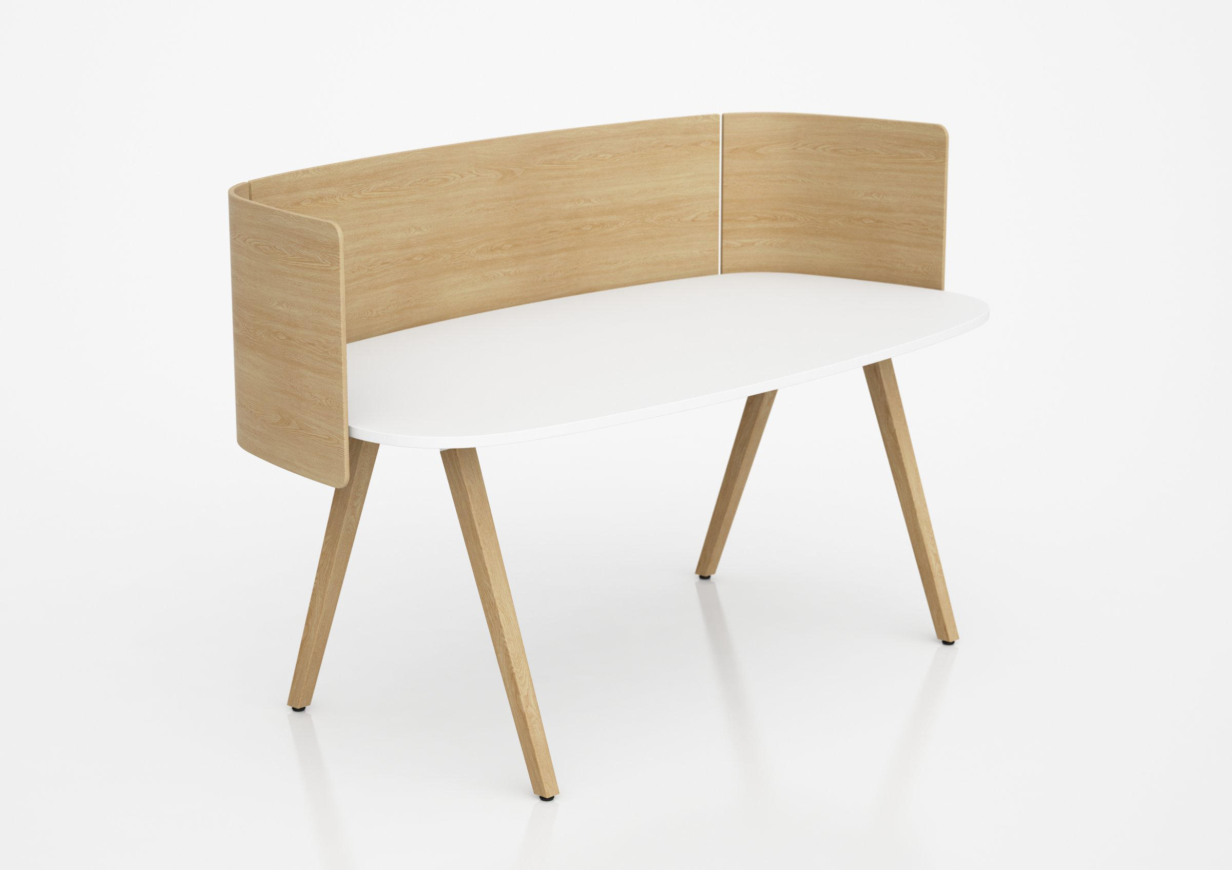 Wood Desk Up Screen Table Dividers From Glimakra Of
