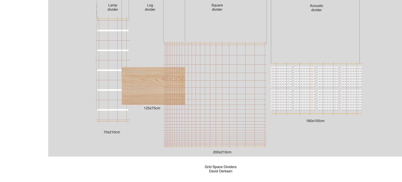 Grid Space Dividers Raumteilsysteme Von Tuttobene