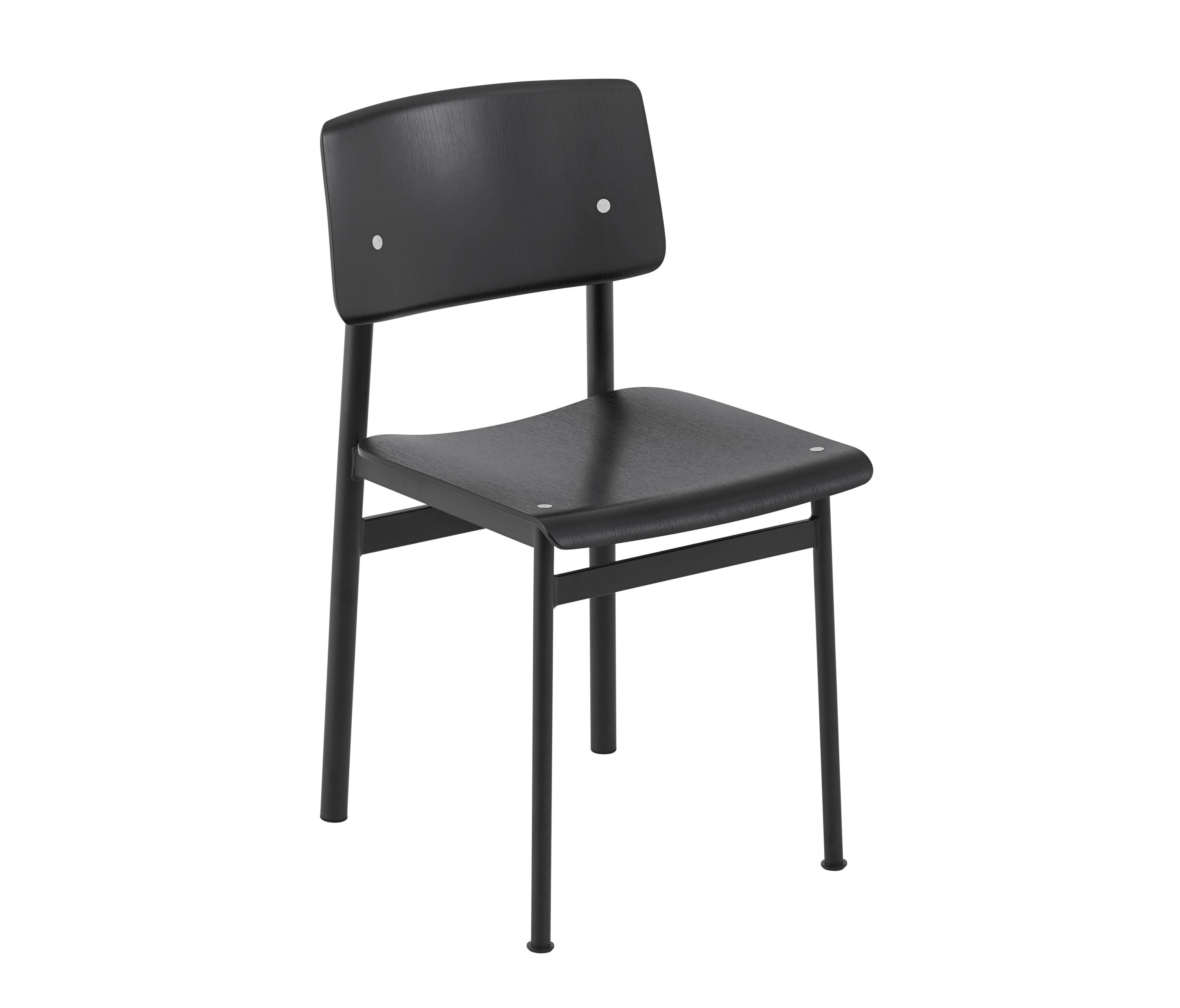 Loft Chair | Black   Black By Muuto | Canteen Chairs