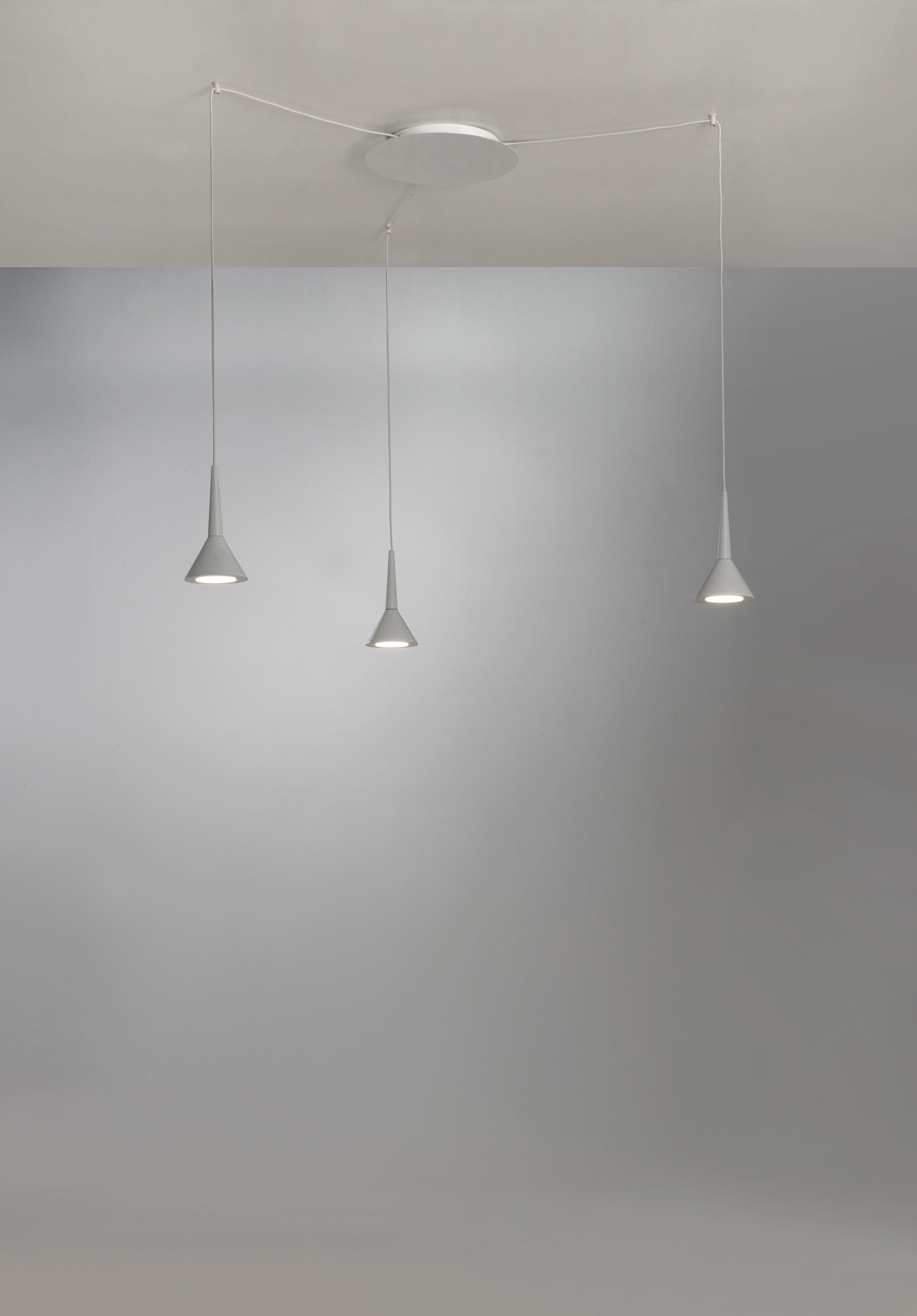 Pevera System Suspended Lights From