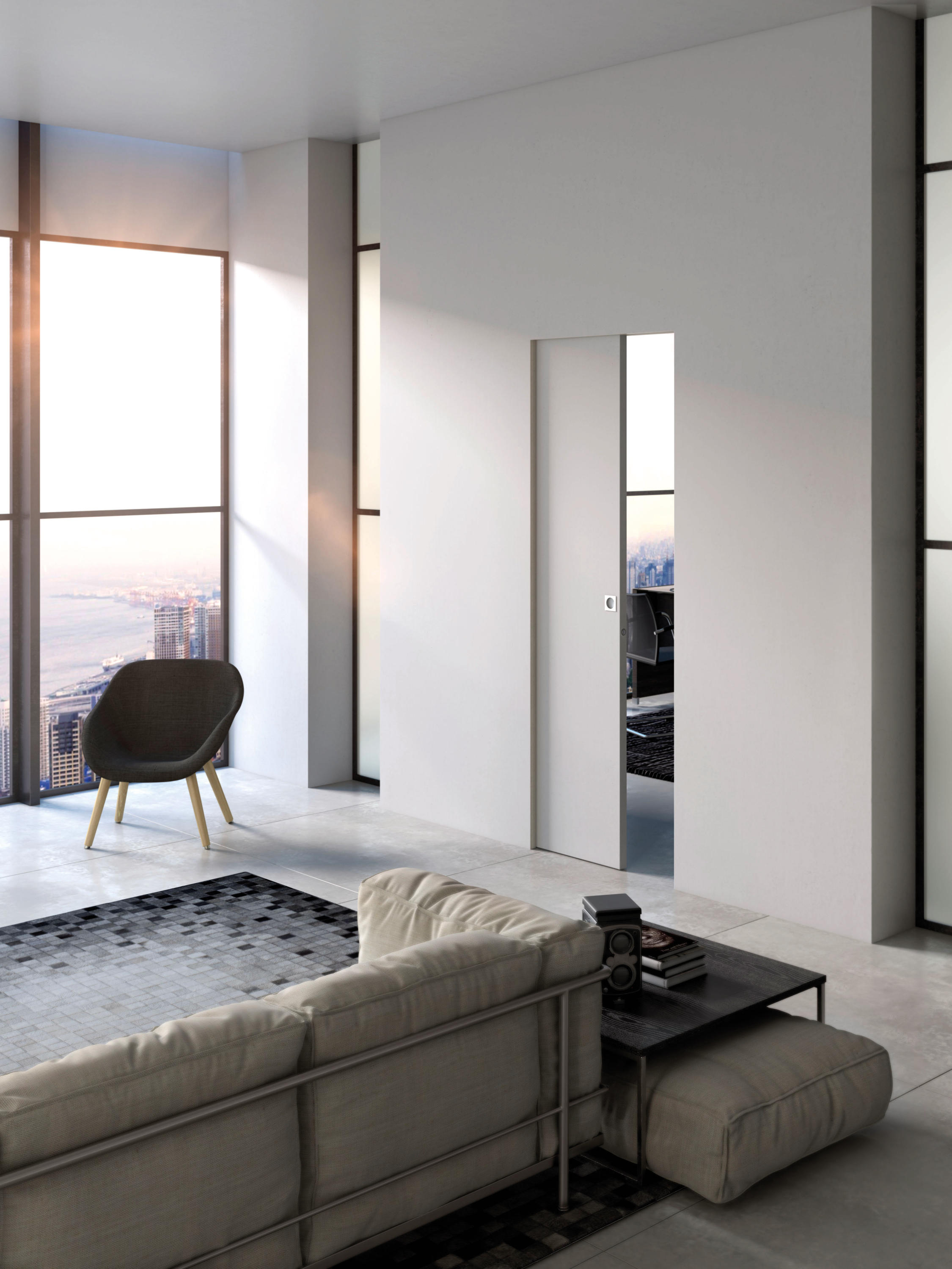 essential sliding internal doors from scrigno architonic