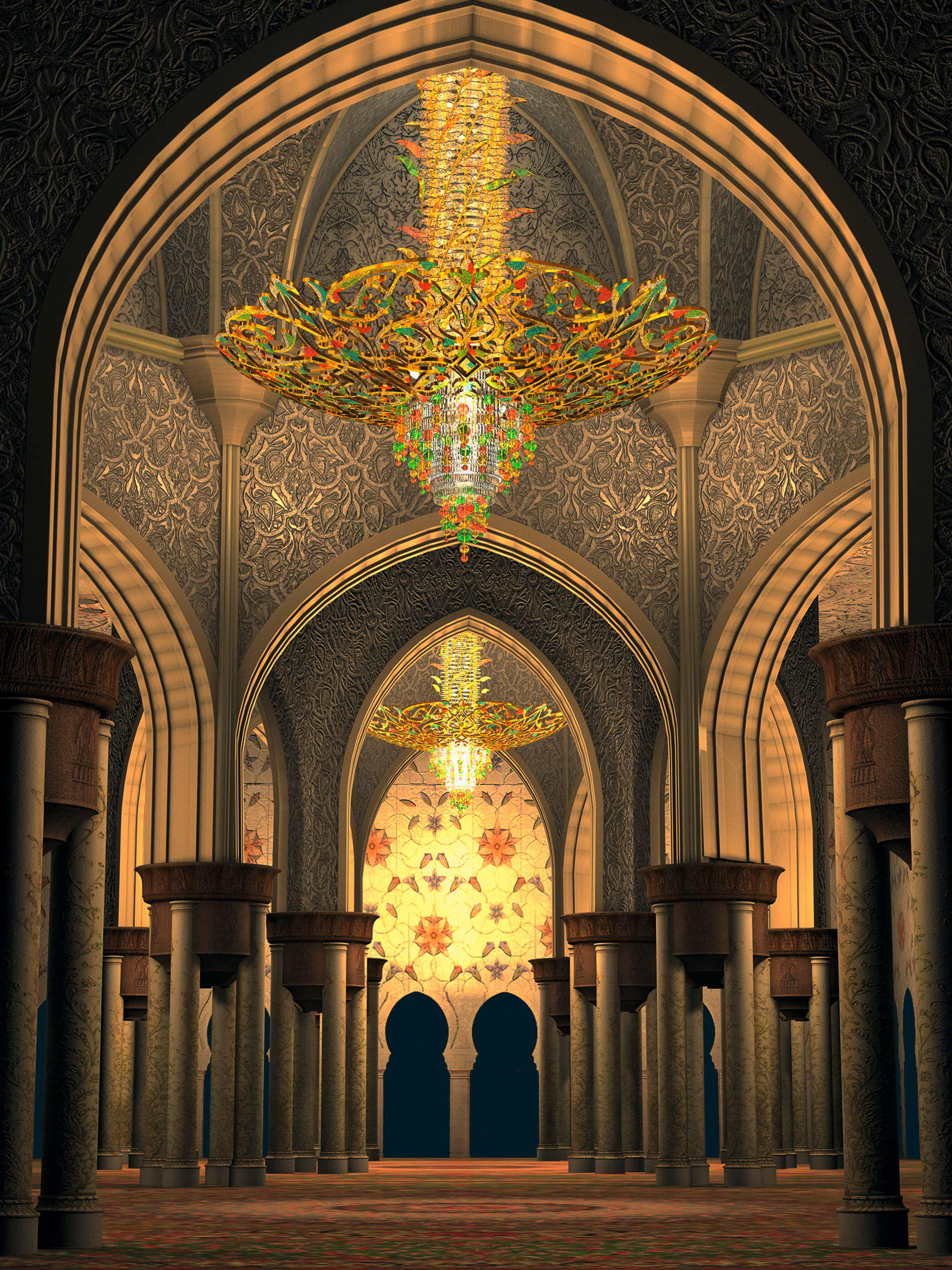 Bespoke Chandelier Quot Sheikh Zayed Grand Mosque