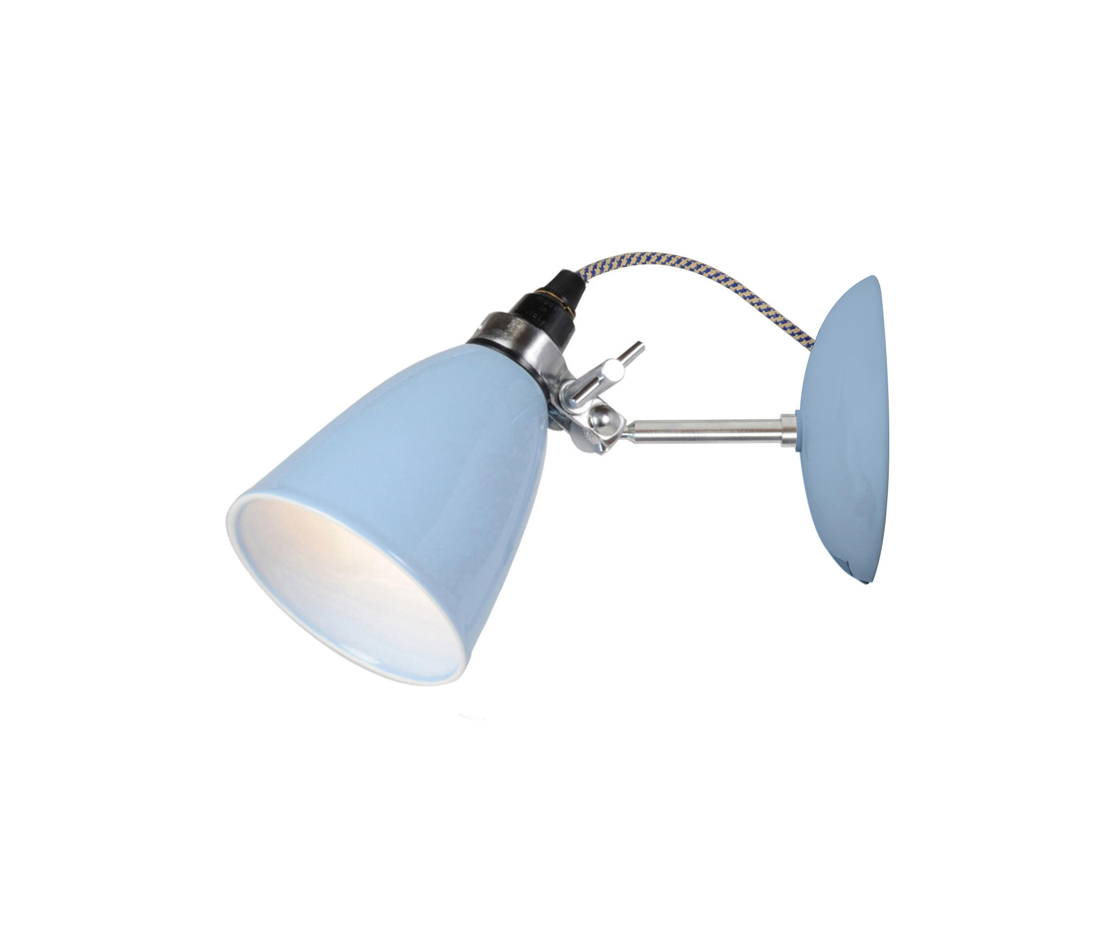 Hector Small Dome Wall Light Blue By Original Btc Lights